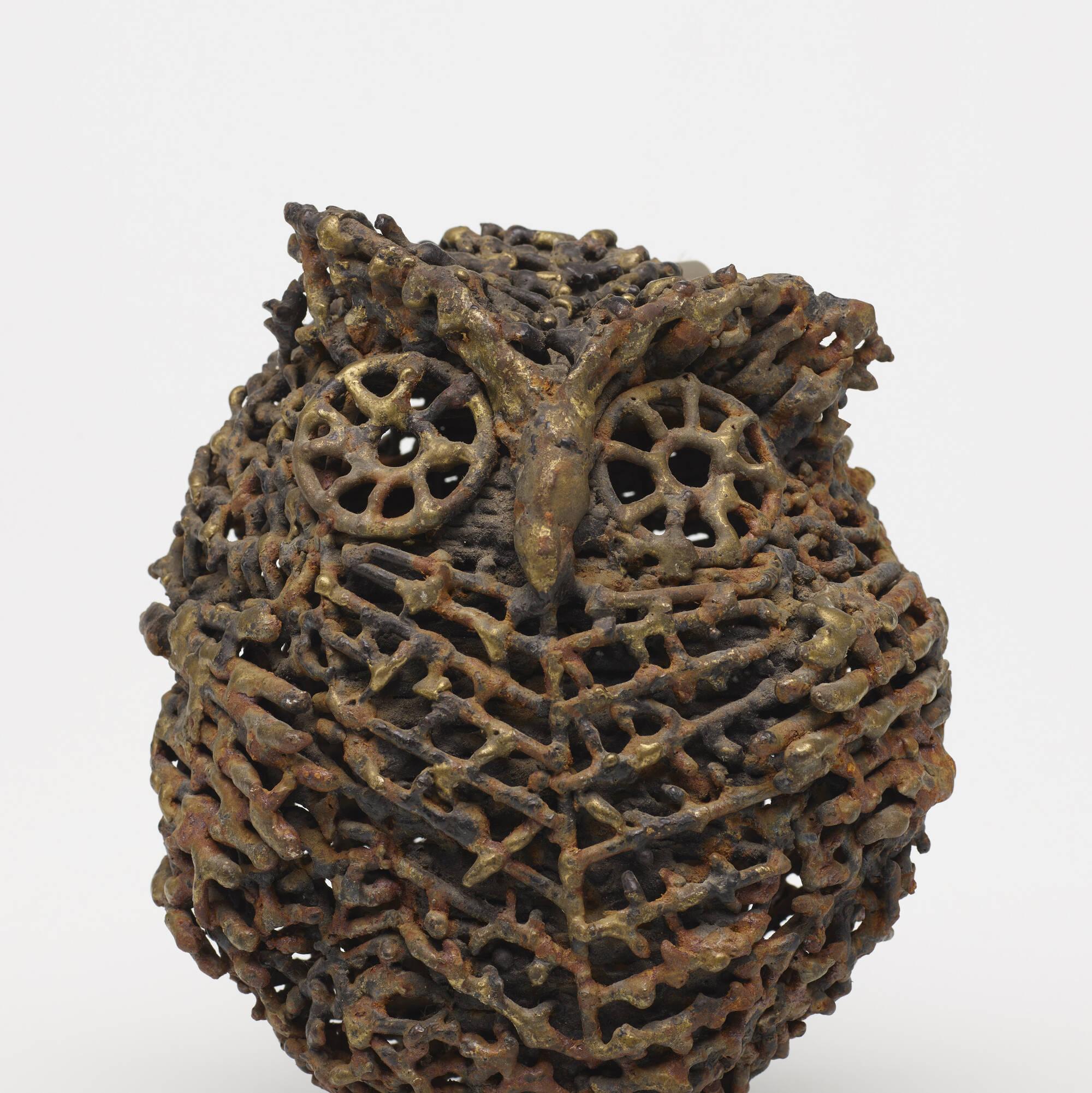 136: Folk Art / owl (3 of 3)