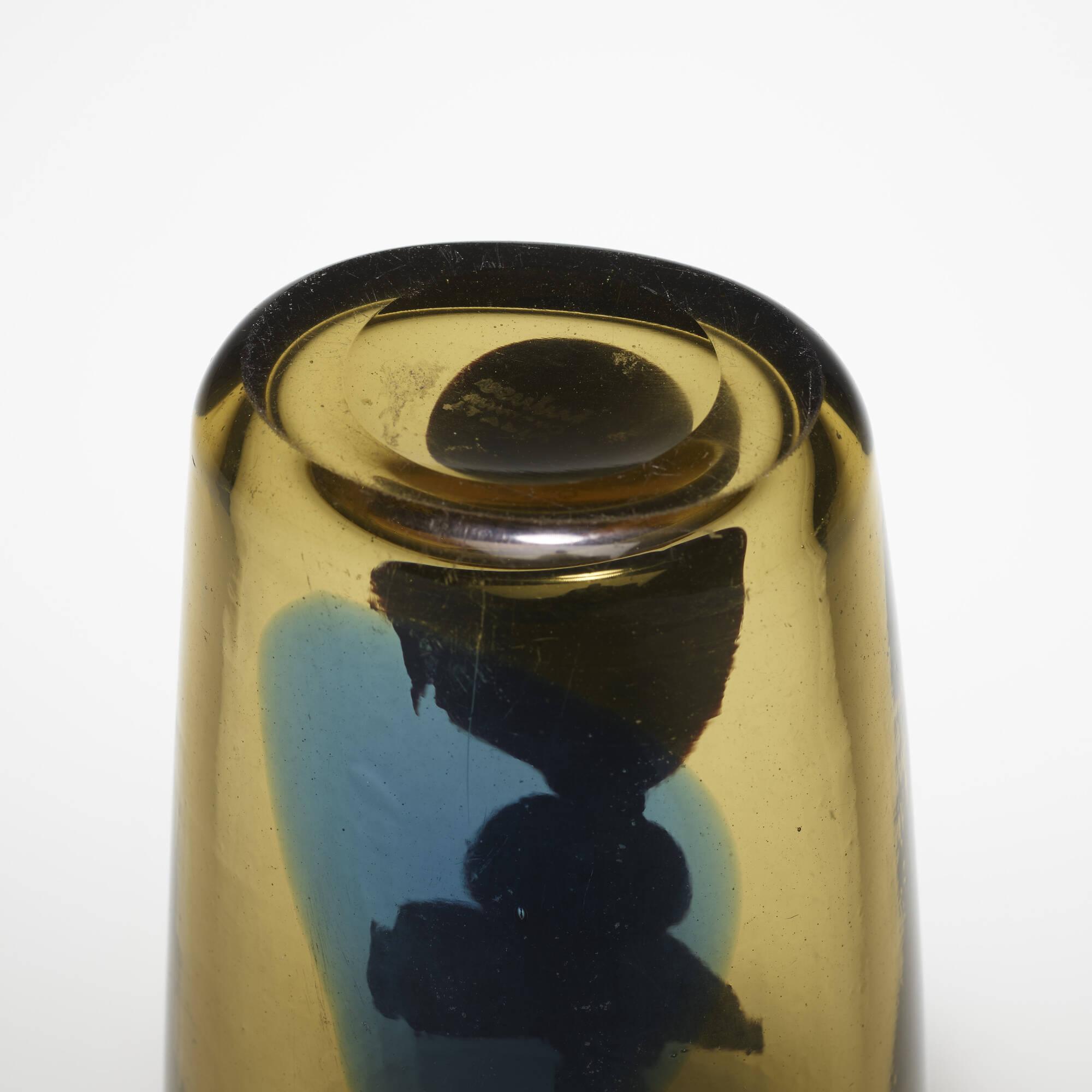 136: Fulvio Bianconi / Con Macchie vase (4 of 4)