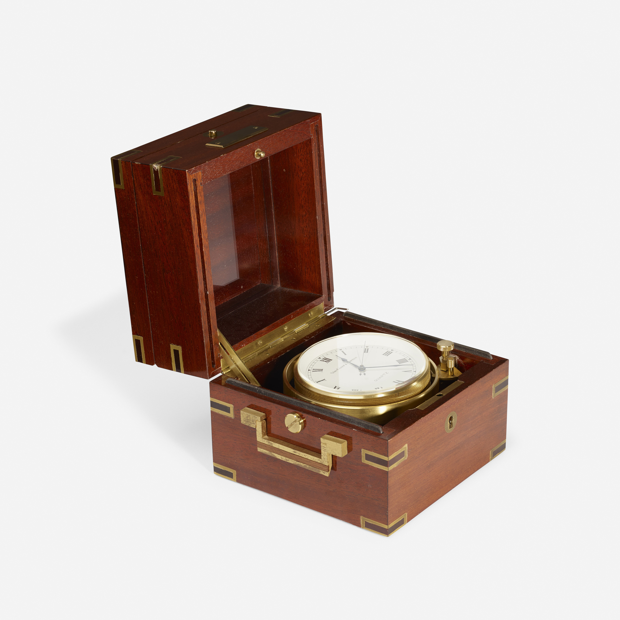 137: Van Cleef & Arpels / A nautical table clock (1 of 2)