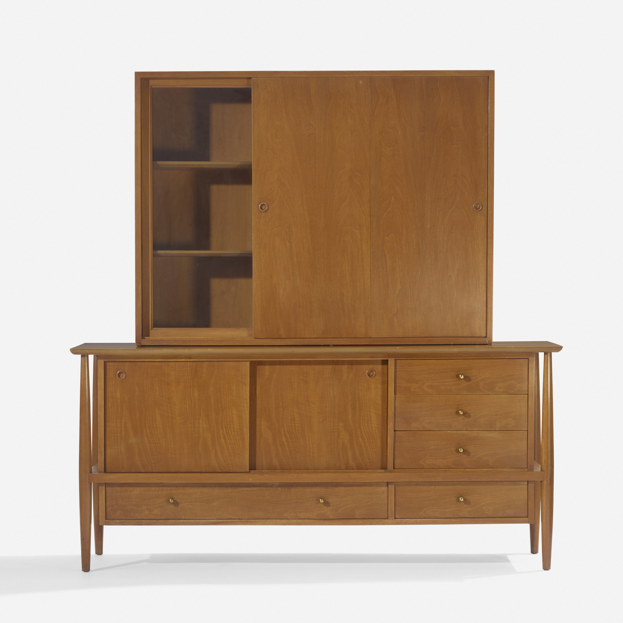 137: In the manner of Finn Juhl / credenza and cabinet (1 of 3)