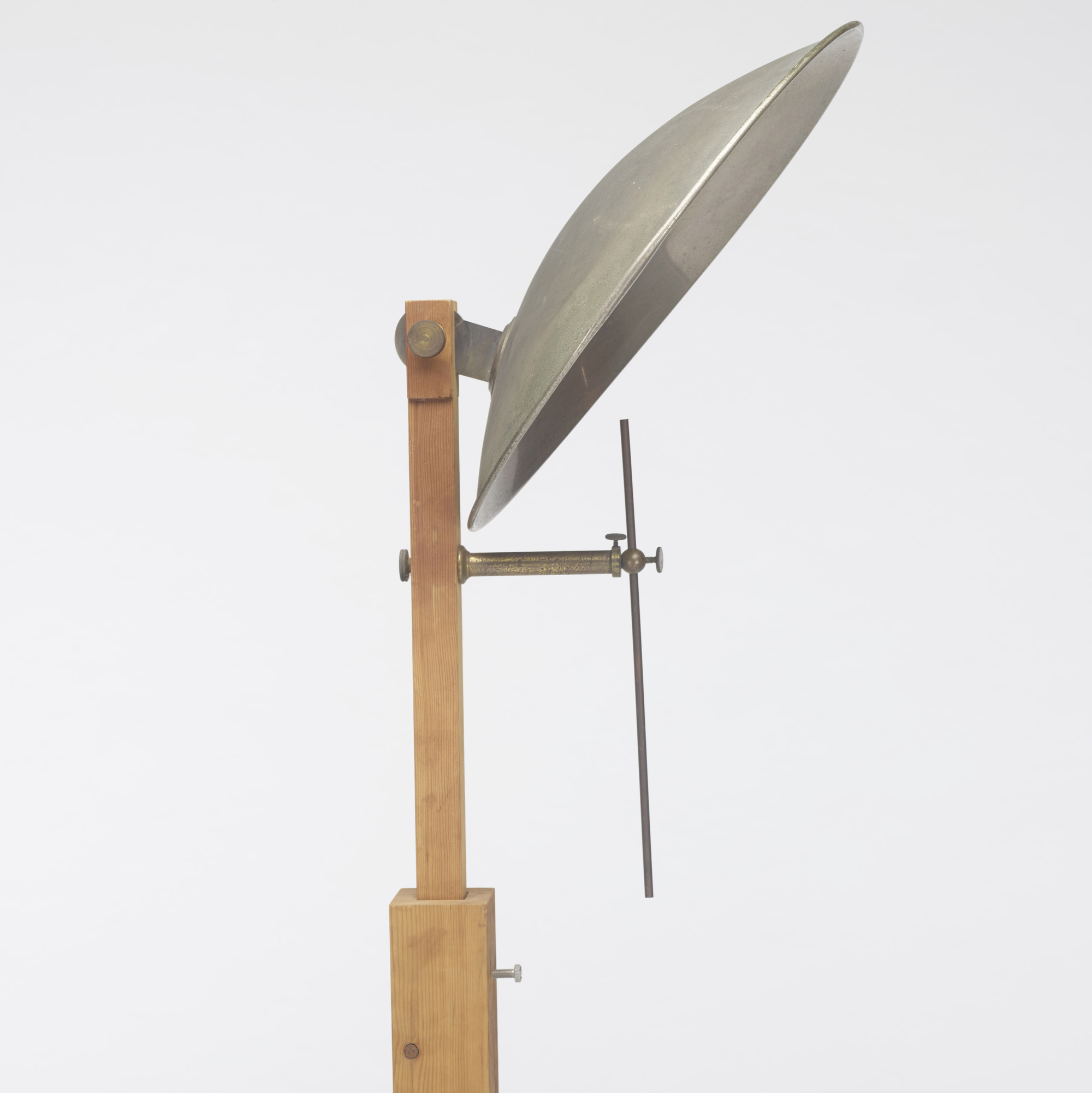 137: 20th Century / candle stand with reflector (2 of 2)