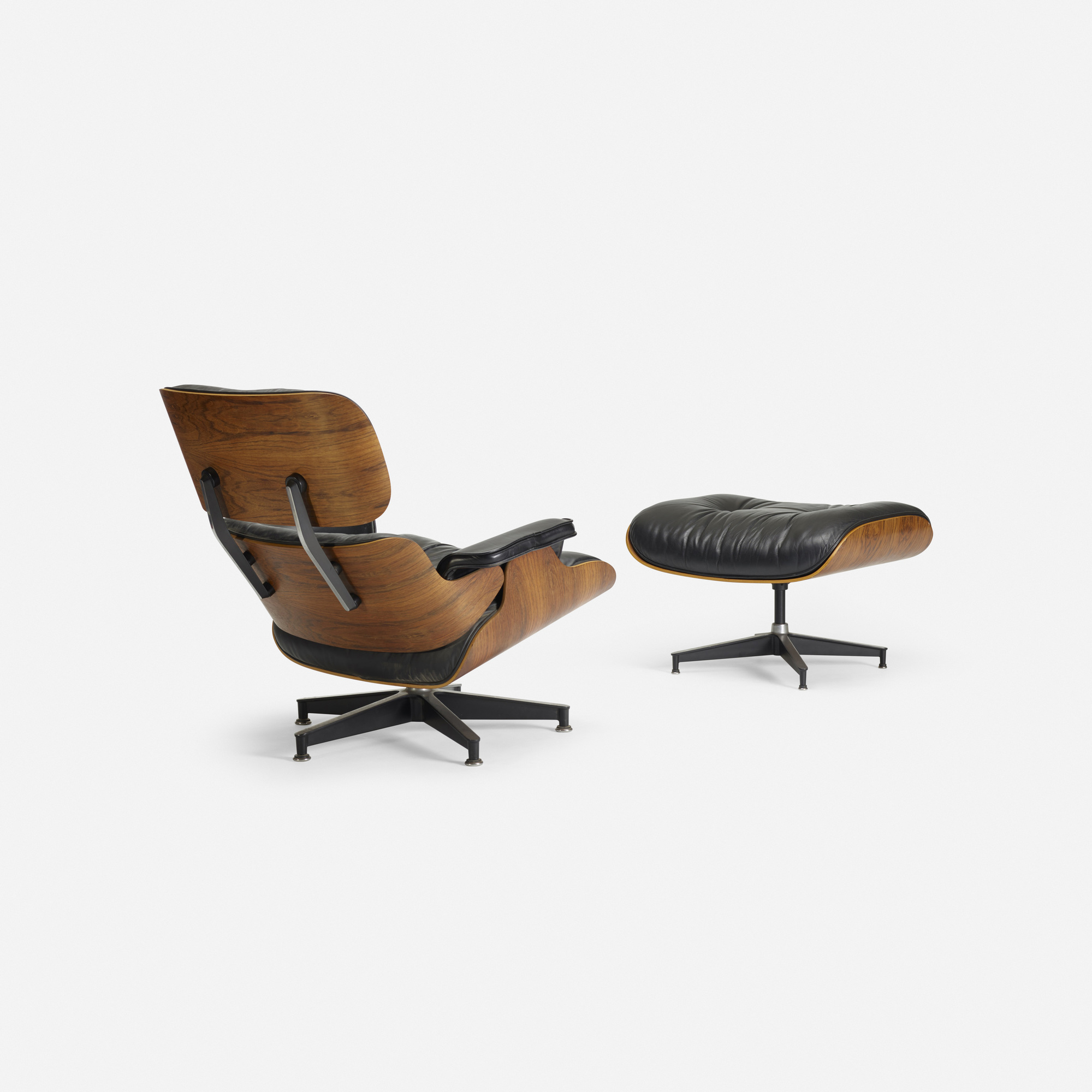 ... 137: Charles And Ray Eames / Lounge Chair, Model 670 And Ottoman, Model