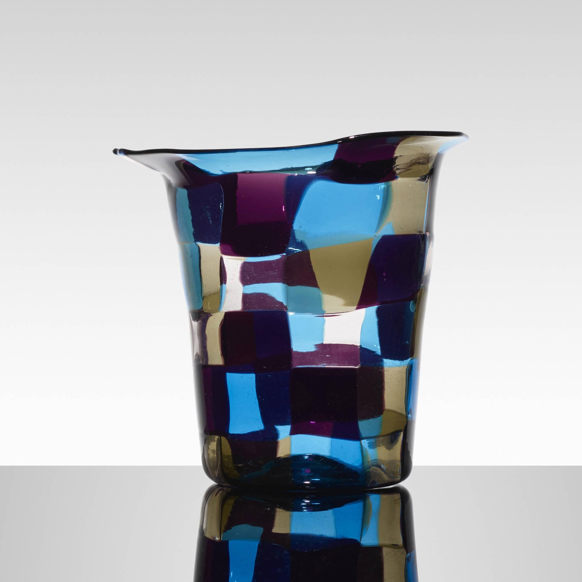 137: Fulvio Bianconi / rare Cappello del Mago vase (2 of 3)