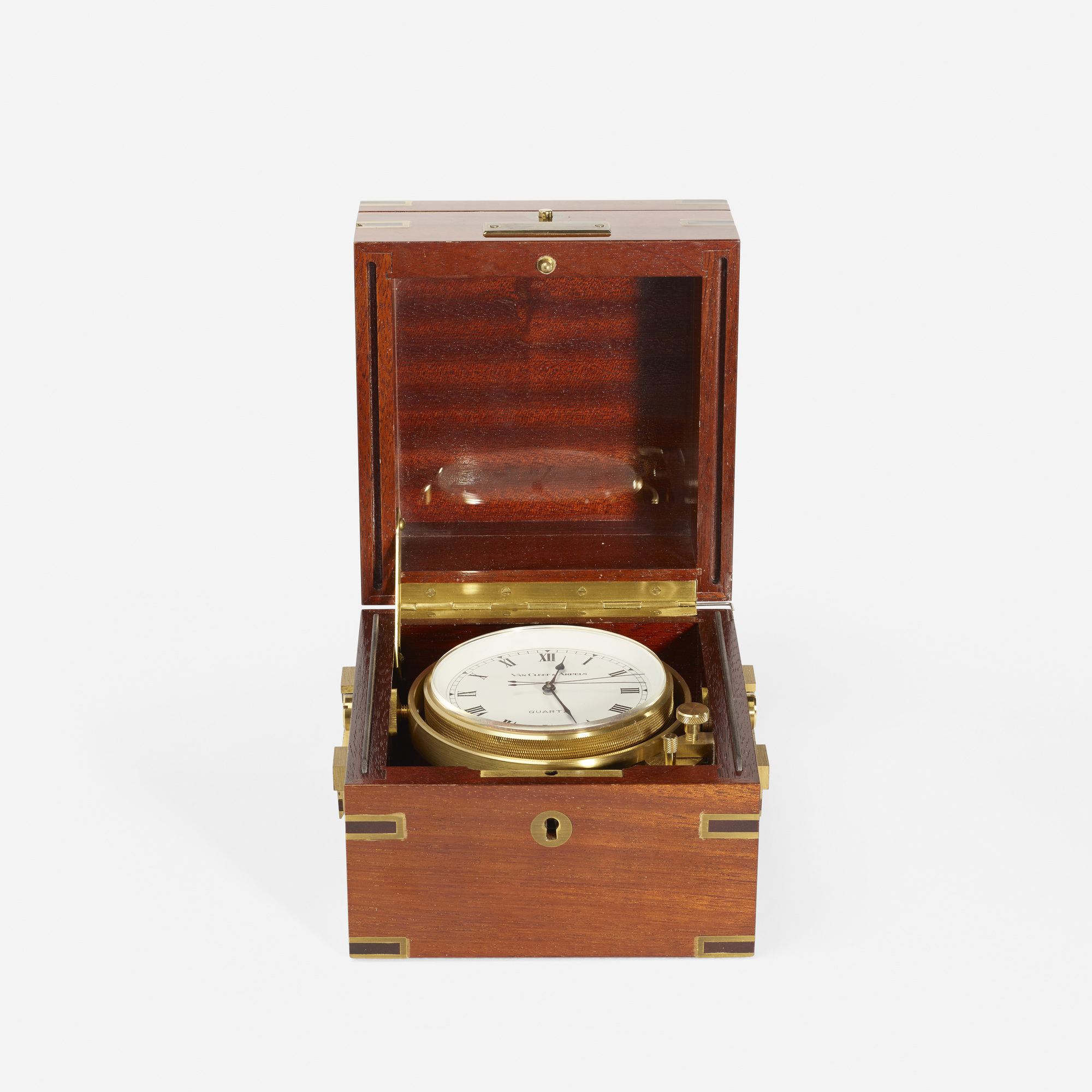 137: Van Cleef & Arpels / A nautical table clock (2 of 2)