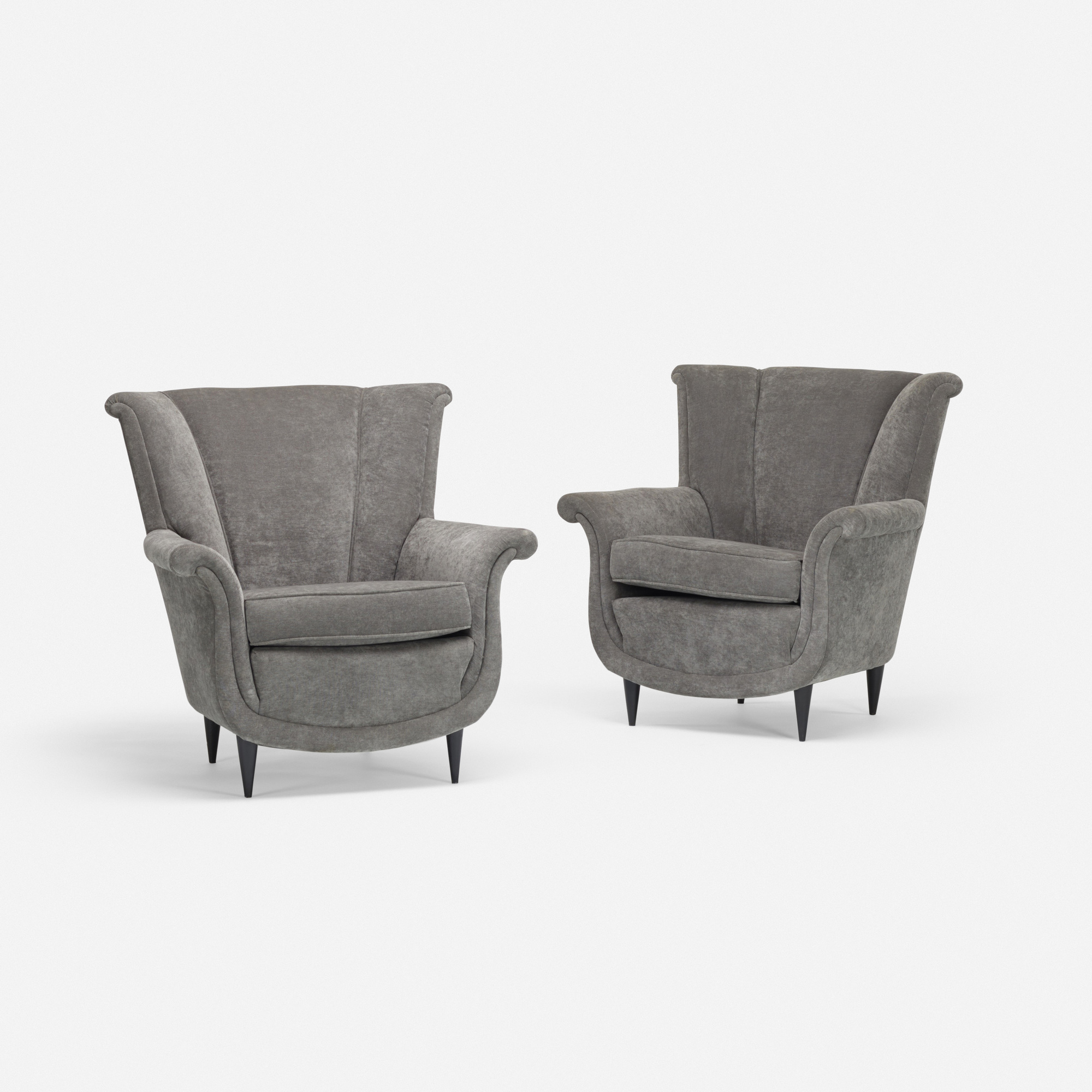 137: Italian / lounge chairs, pair (2 of 2)