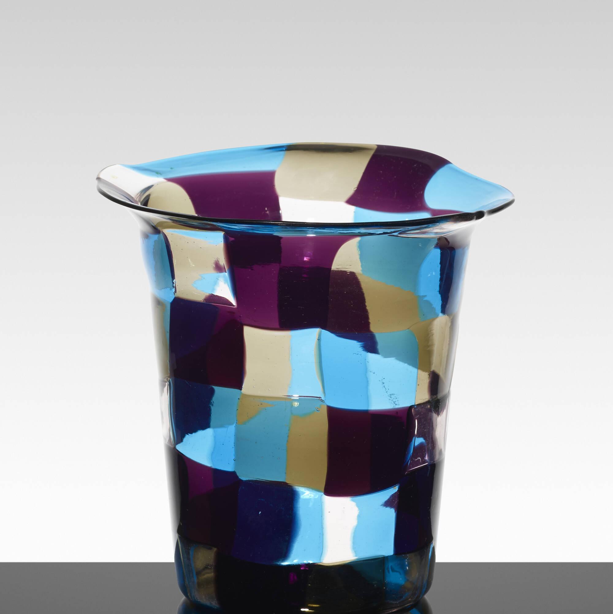 137: Fulvio Bianconi / rare Cappello del Mago vase (3 of 3)
