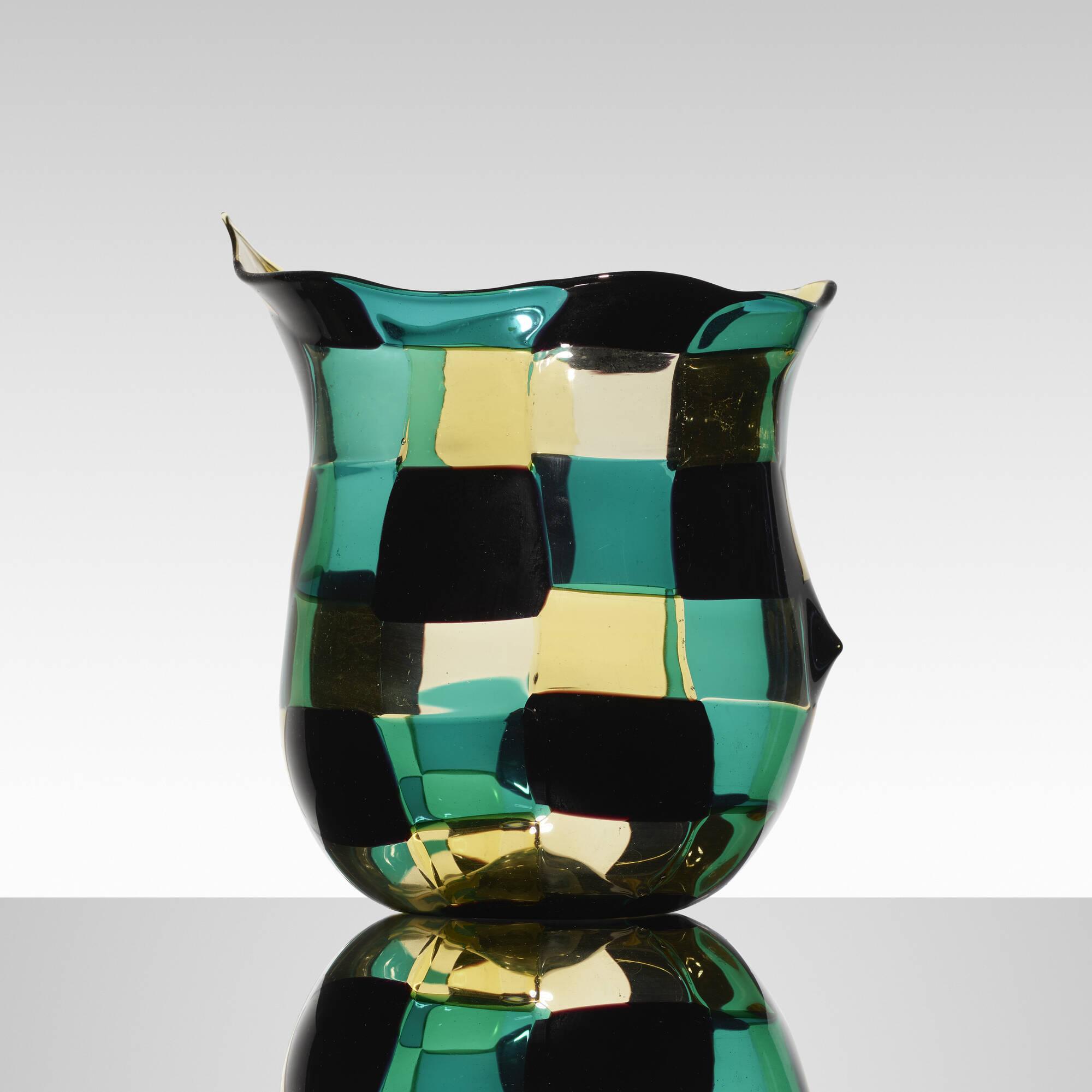 138: Fulvio Bianconi / Pezzato vase (1 of 3)