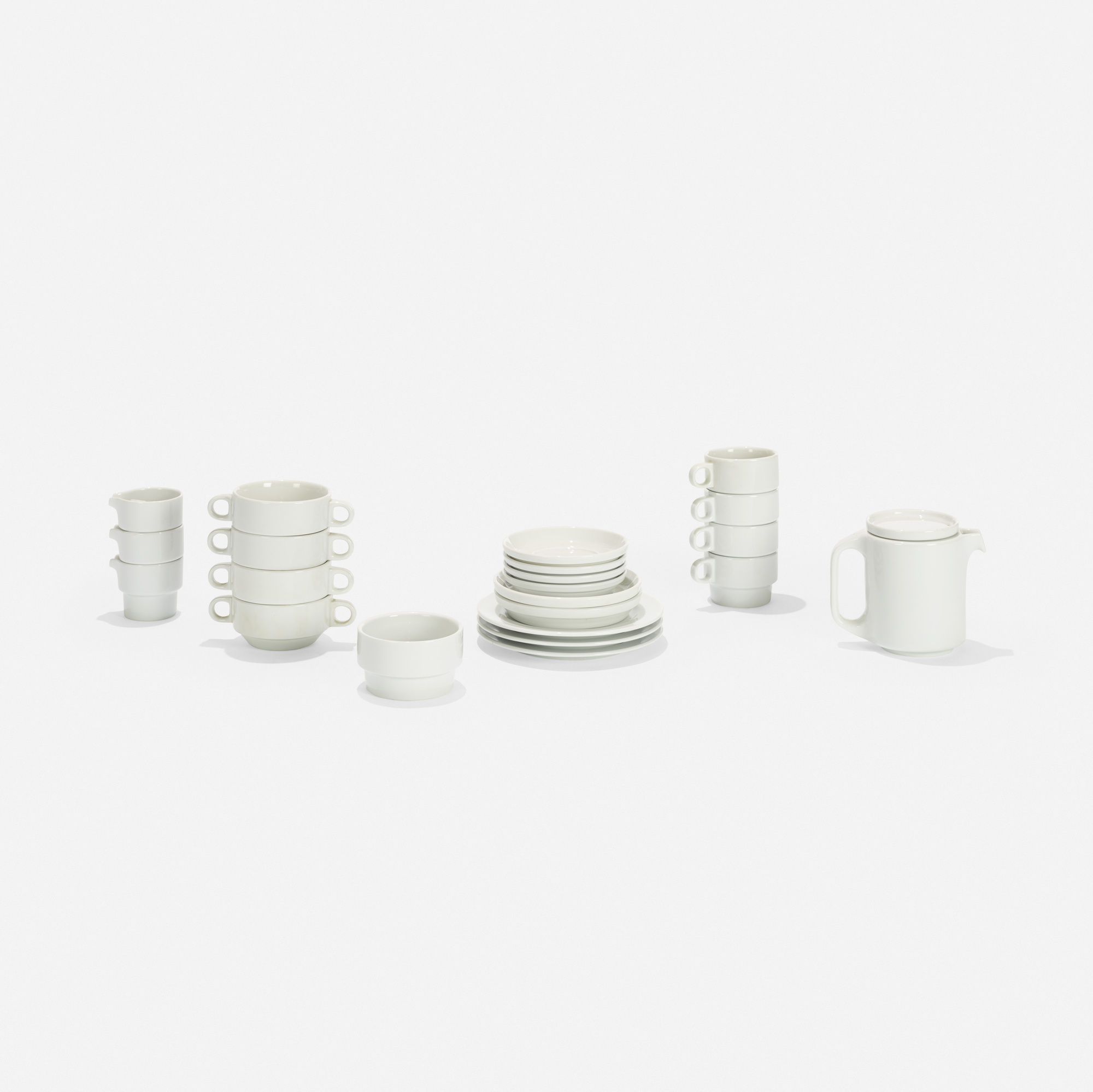 138: Nick Roericht / Stacking tableware, model TC 100 (1 of 3)