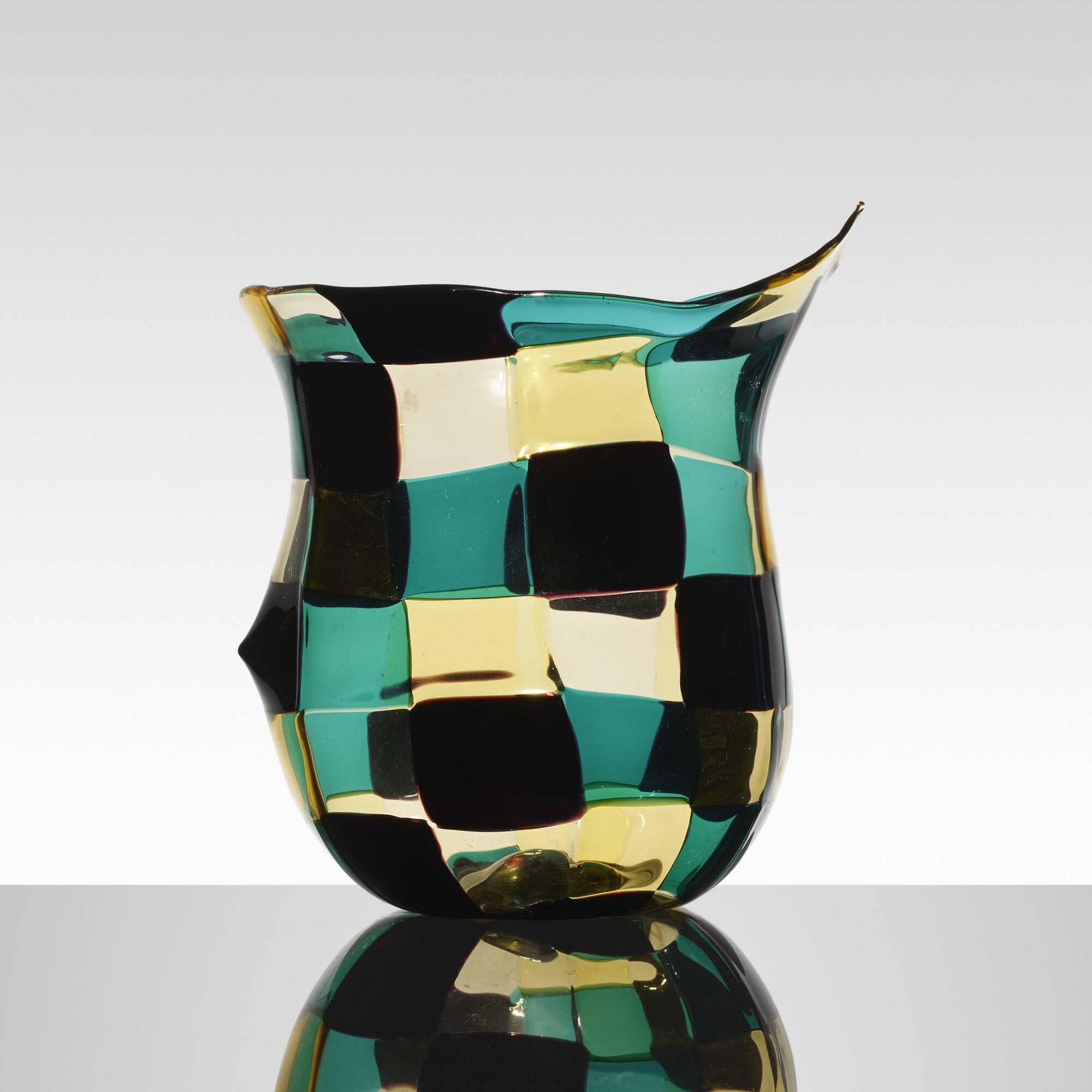 138: Fulvio Bianconi / Pezzato vase (2 of 3)