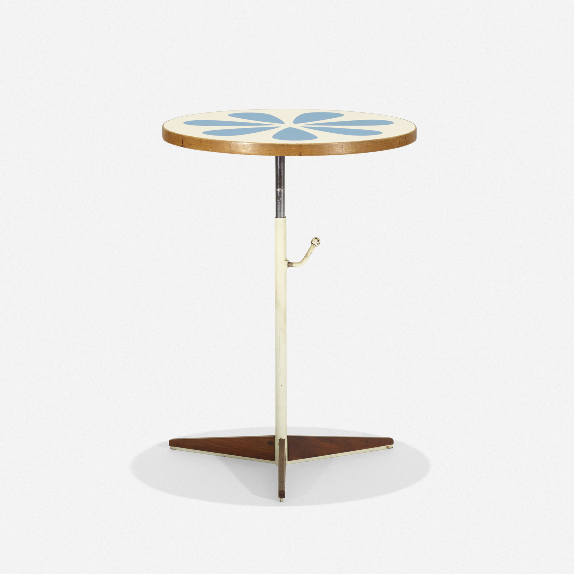 139: Howard McNab and Don Savage / adjustable occasional table (1 of 2)