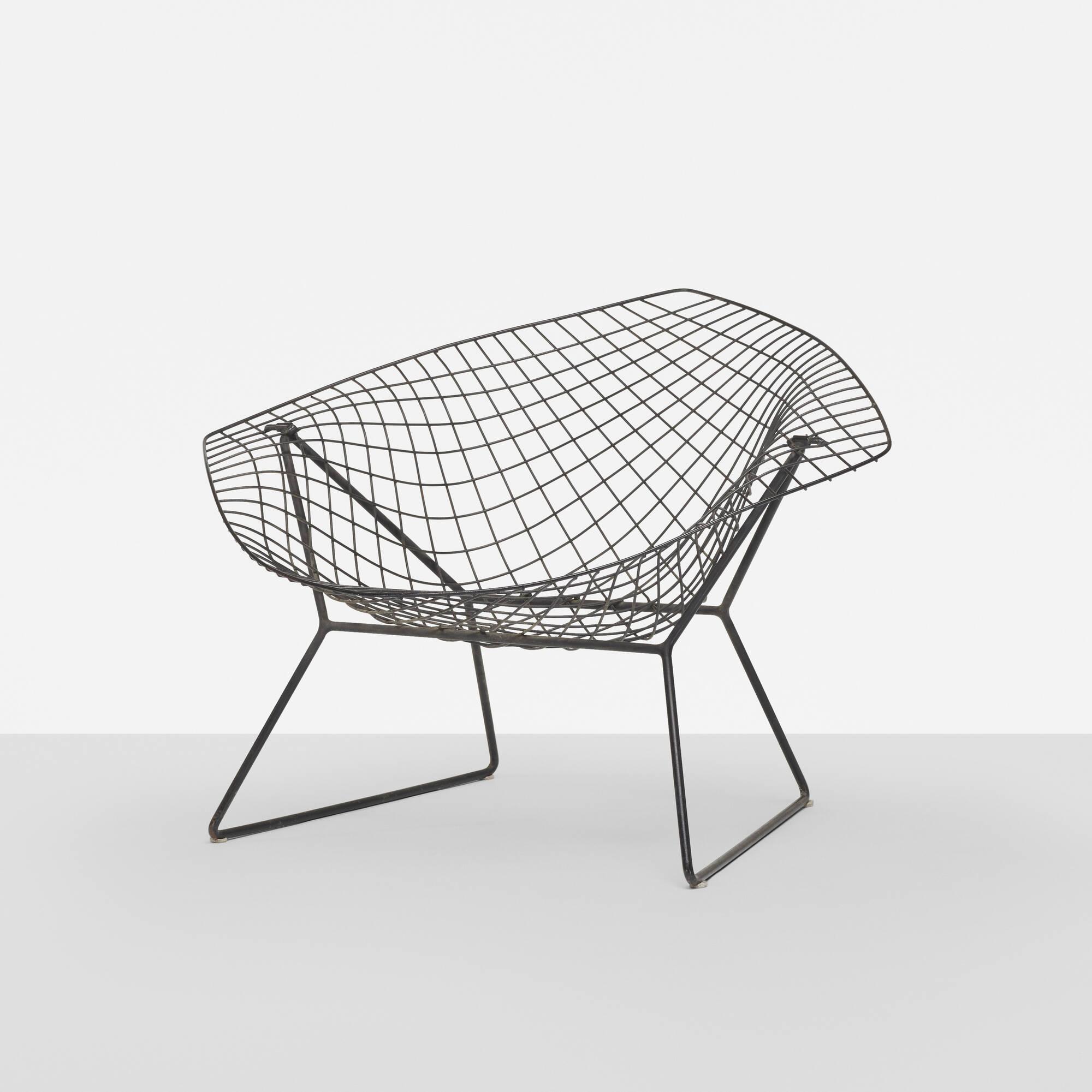 139: HARRY BERTOIA, prototype Diamond chair < Design, 24 March 2016 ...