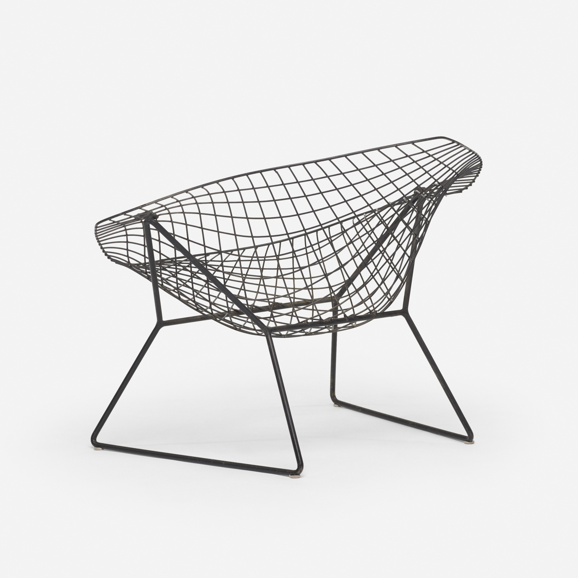 139 harry bertoia prototype diamond chair. Black Bedroom Furniture Sets. Home Design Ideas