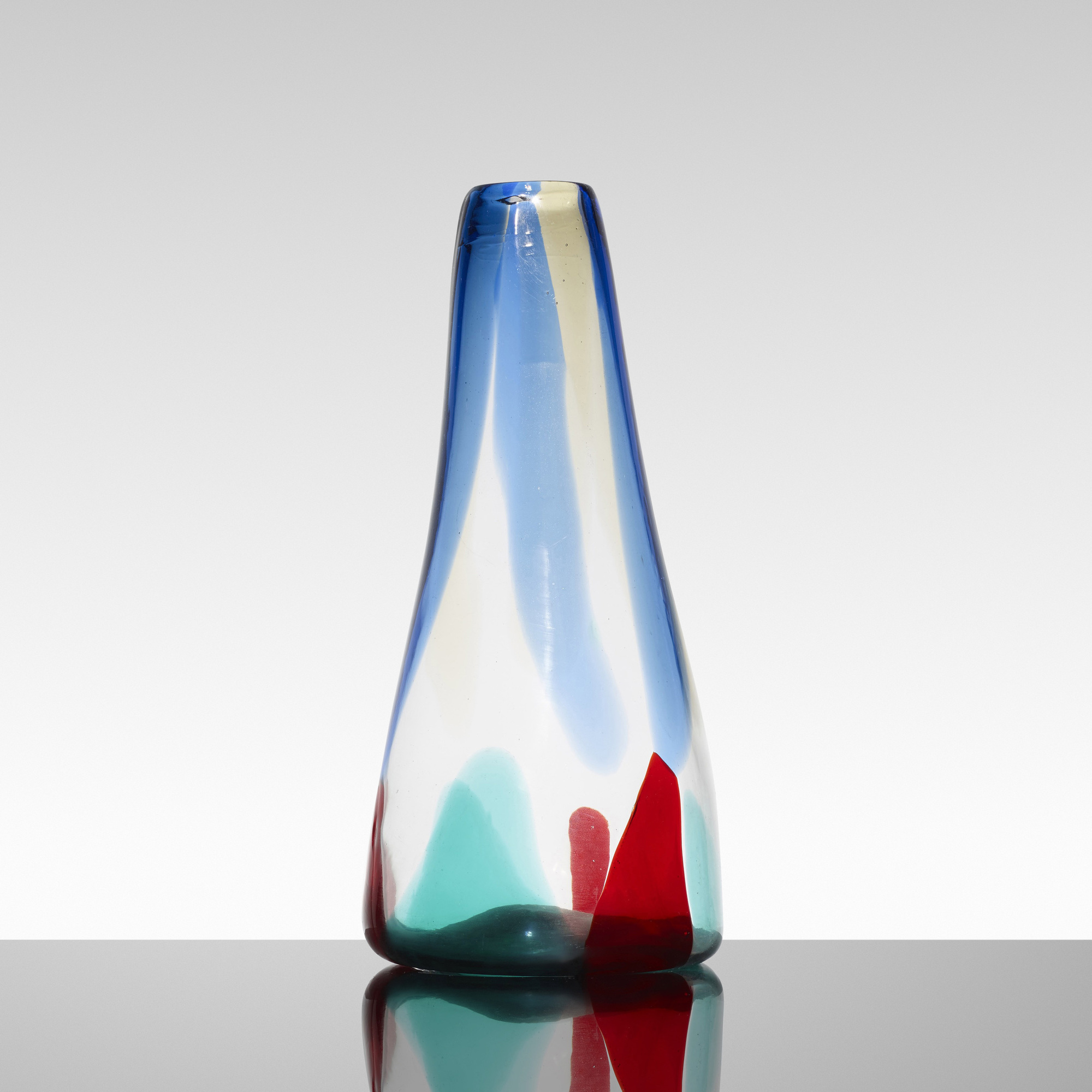 139: Fulvio Bianconi / Pezzame vase, model 4394 (2 of 3)