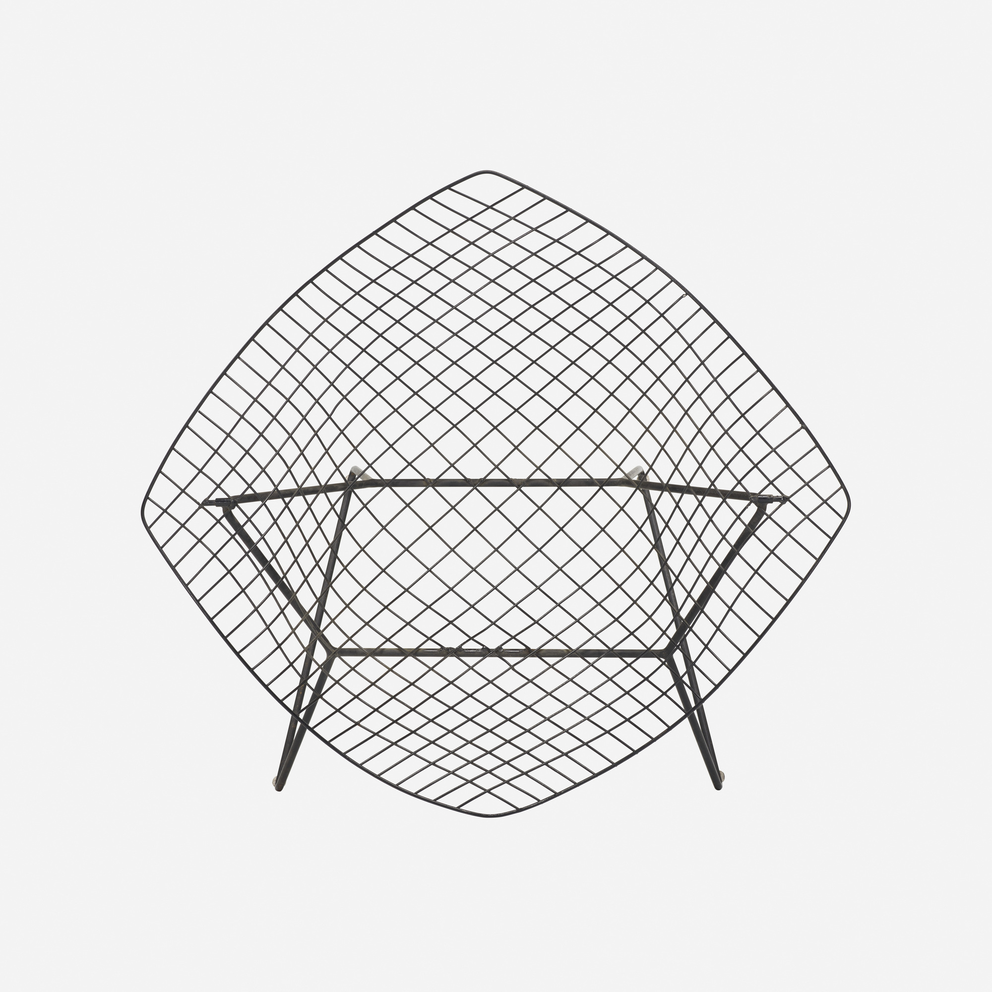 139 Harry Bertoia prototype Diamond chair Design 24 March
