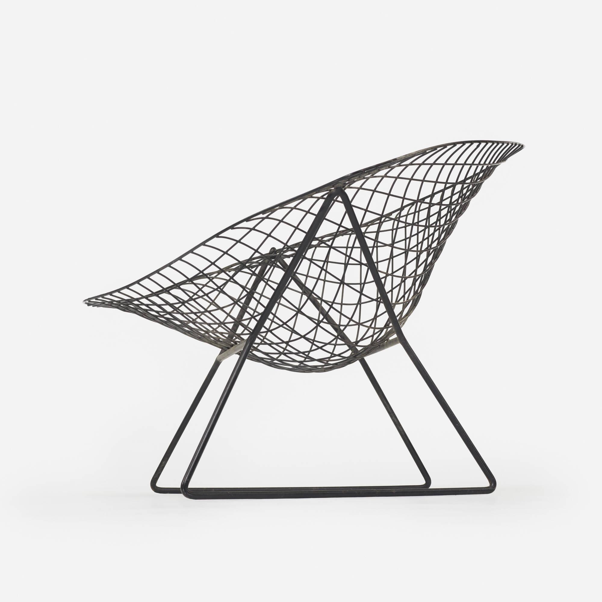 139 harry bertoia prototype diamond chair 4 of 5