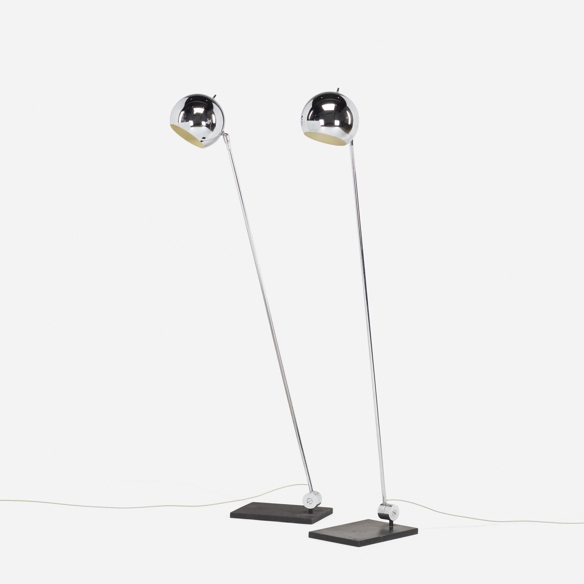 140 robert sonneman floor lamps pair articulated light the 140 robert sonneman floor lamps pair 1 of 2 mozeypictures Images