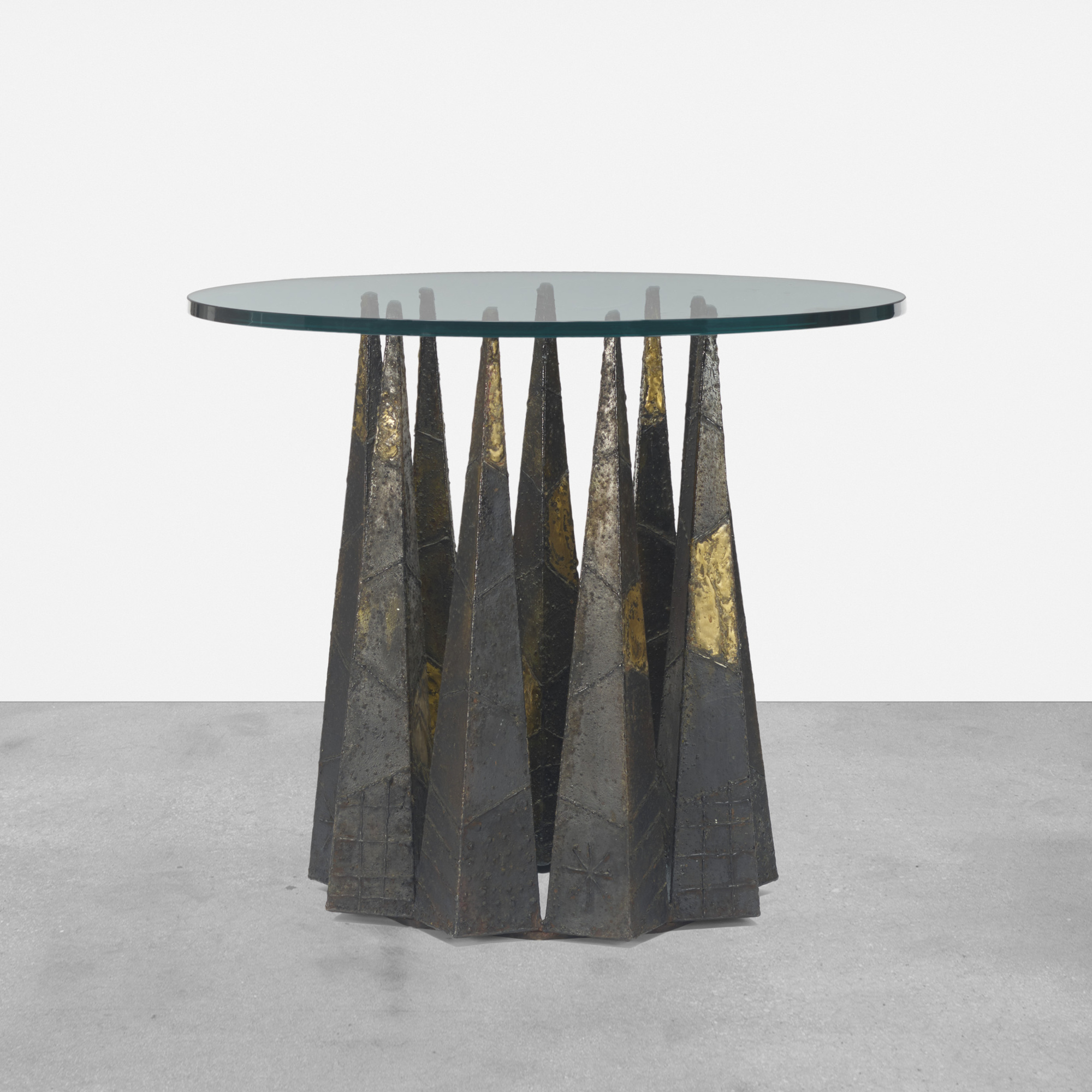 140: Paul Evans / dining table, model PE 46 (1 of 2)