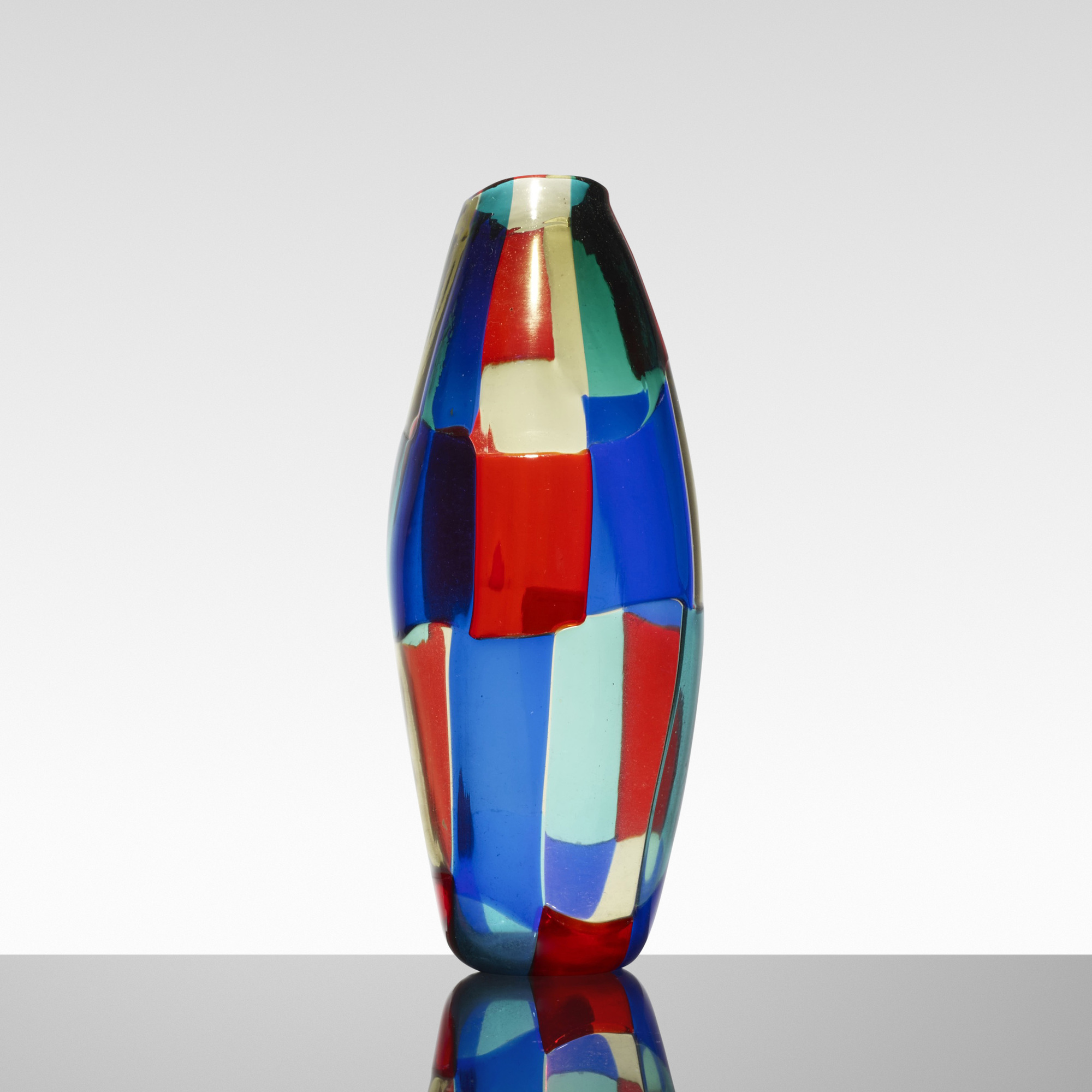 140: Fulvio Bianconi / rare Pezzato vase (2 of 3)