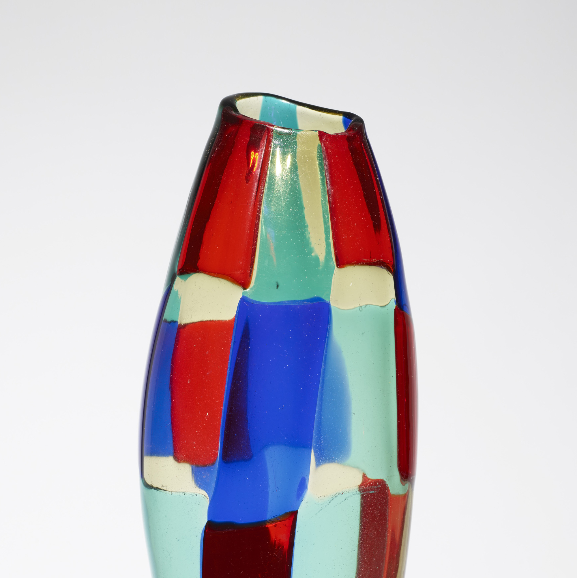140: Fulvio Bianconi / rare Pezzato vase (3 of 3)