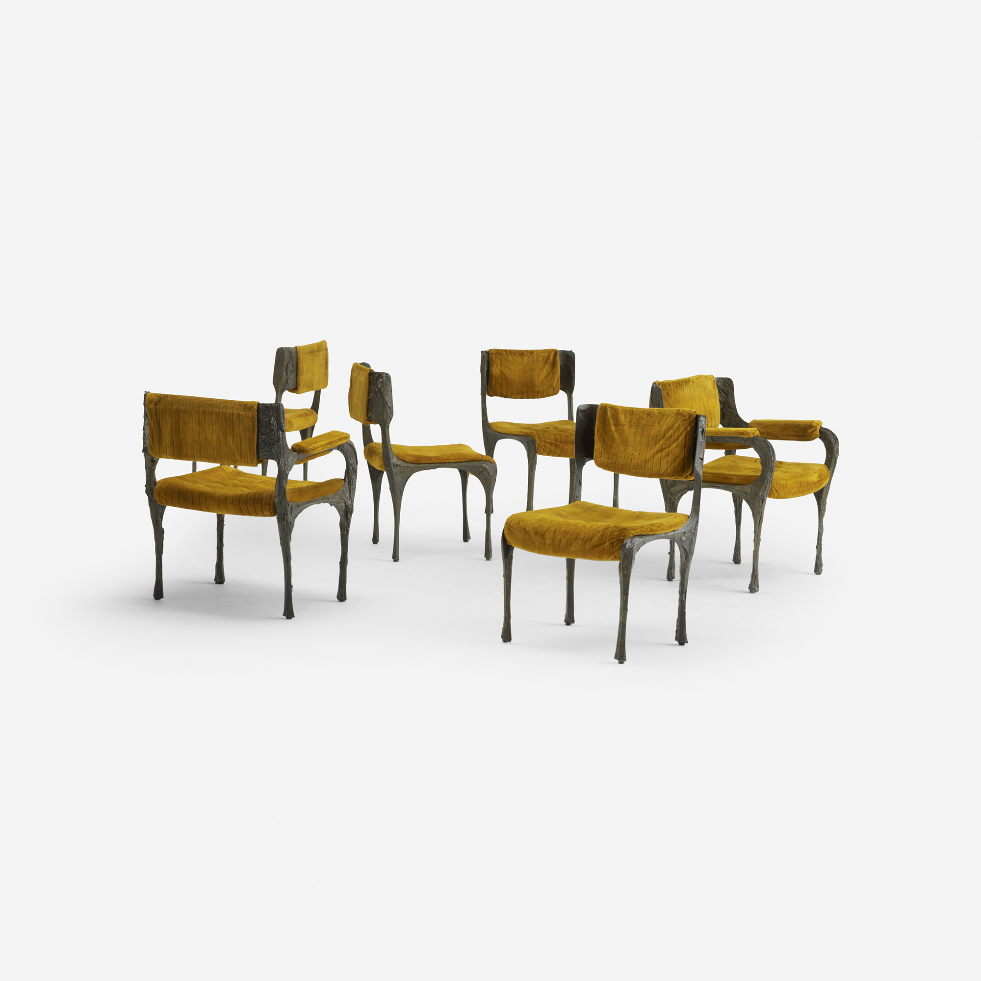 Marvelous 141: Paul Evans / Dining Chairs Model PE 105, Set Of Six (2 Of 3) ...