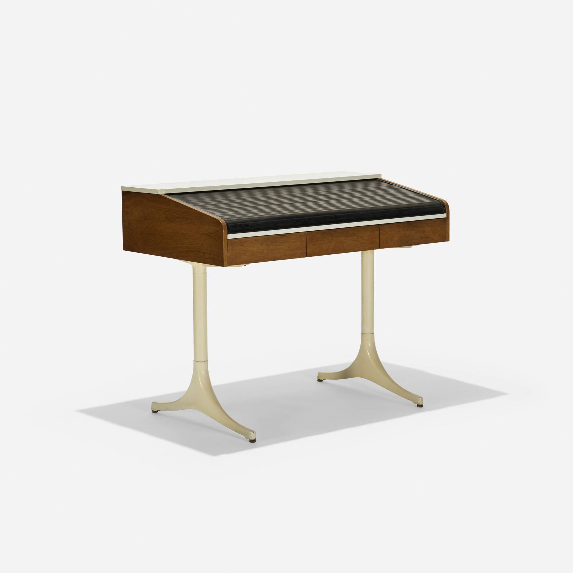 141: George Nelson & Associates / Roll Top desk, model 5496 (1 of 3)