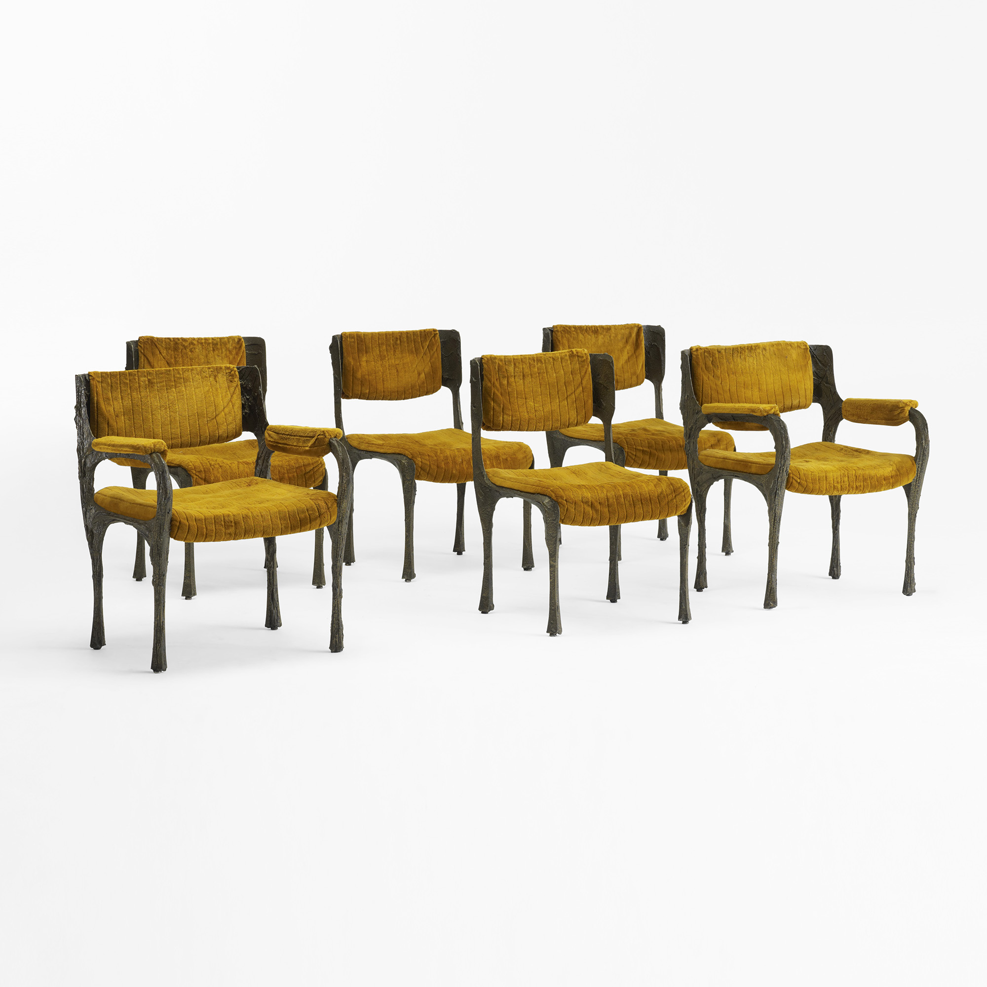 141: Paul Evans / Dining Chairs Model PE 105, Set Of Six (1 Of 3) ...