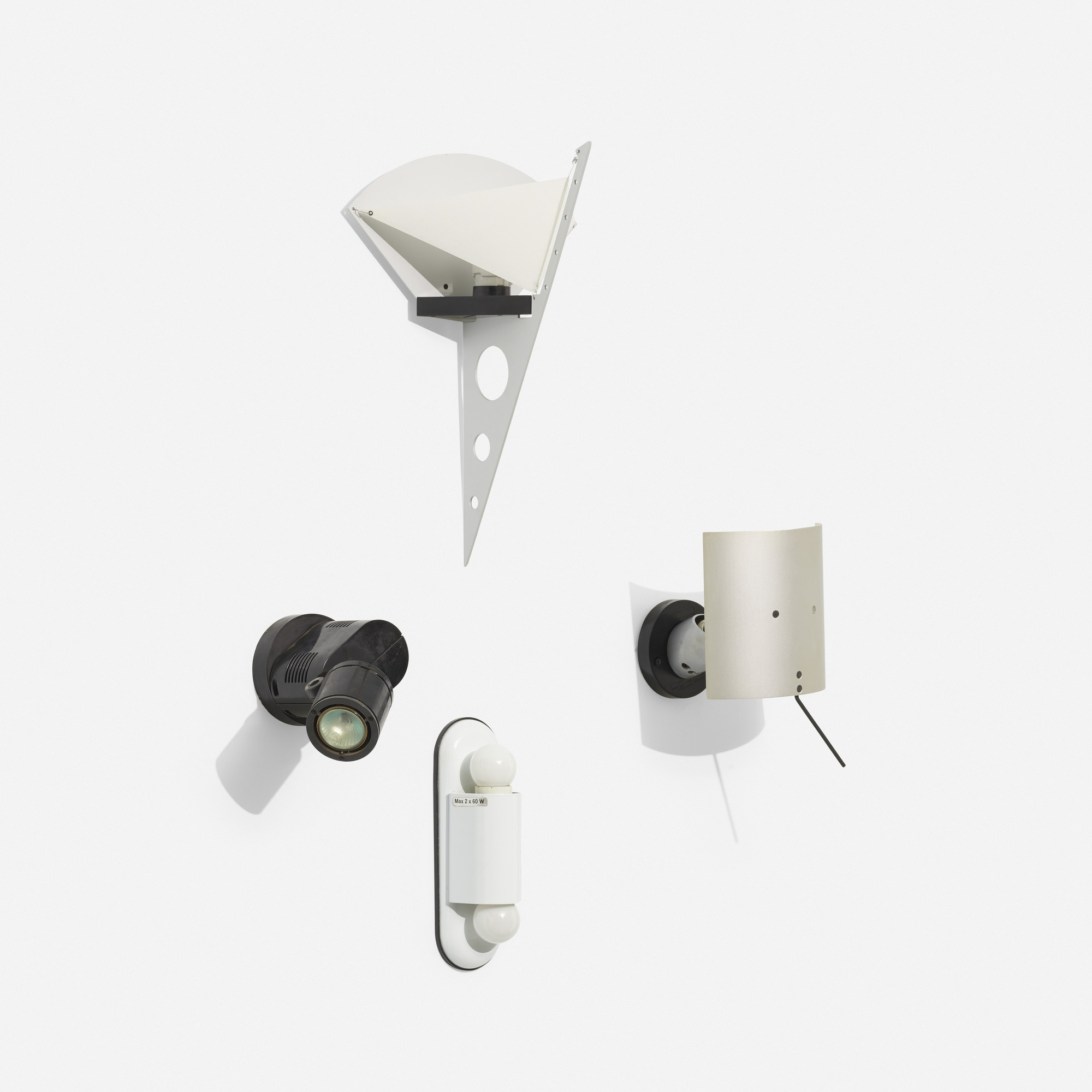 141: Artemide / collection of four sconces (1 of 1)