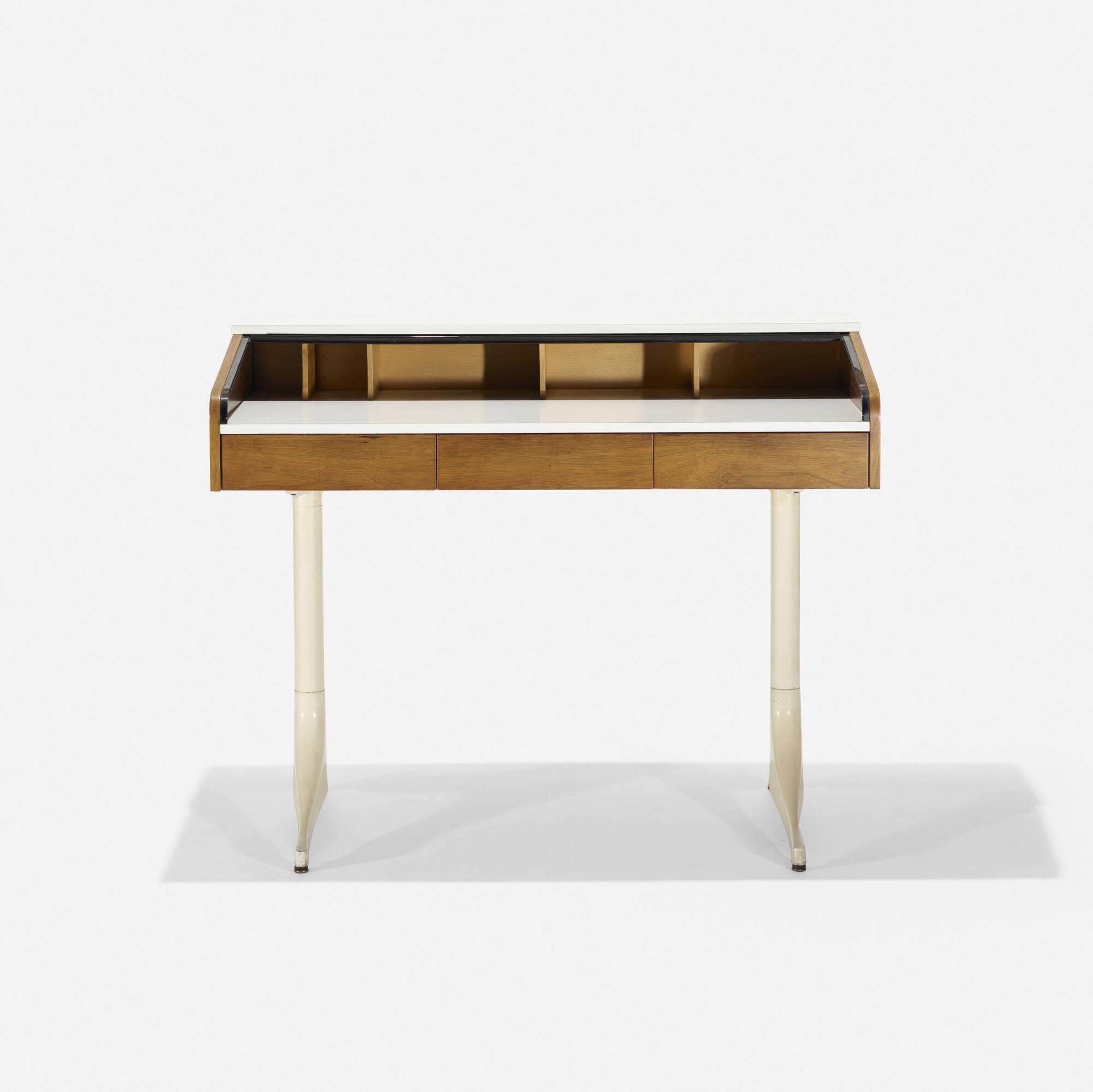 141: George Nelson & Associates / Roll Top desk, model 5496 (2 of 3)