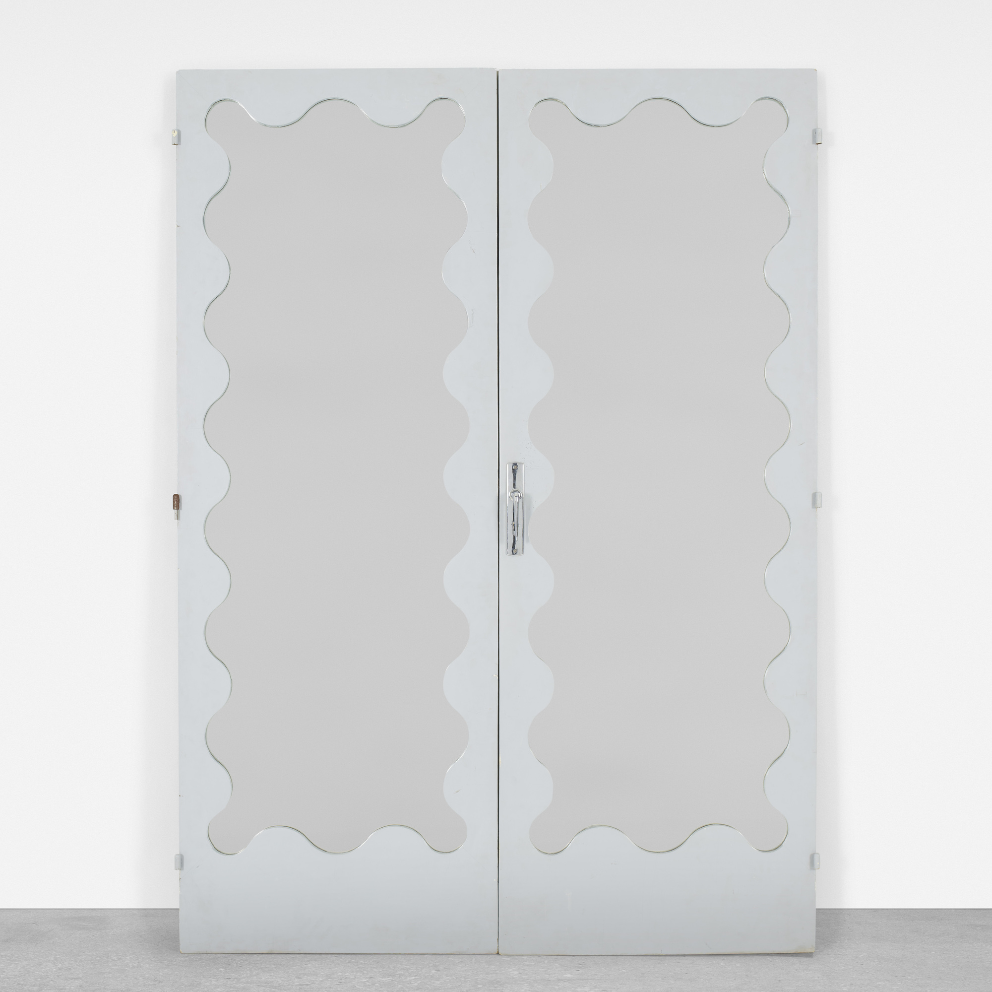 142: Jean Royère / doors, pair (1 of 2)