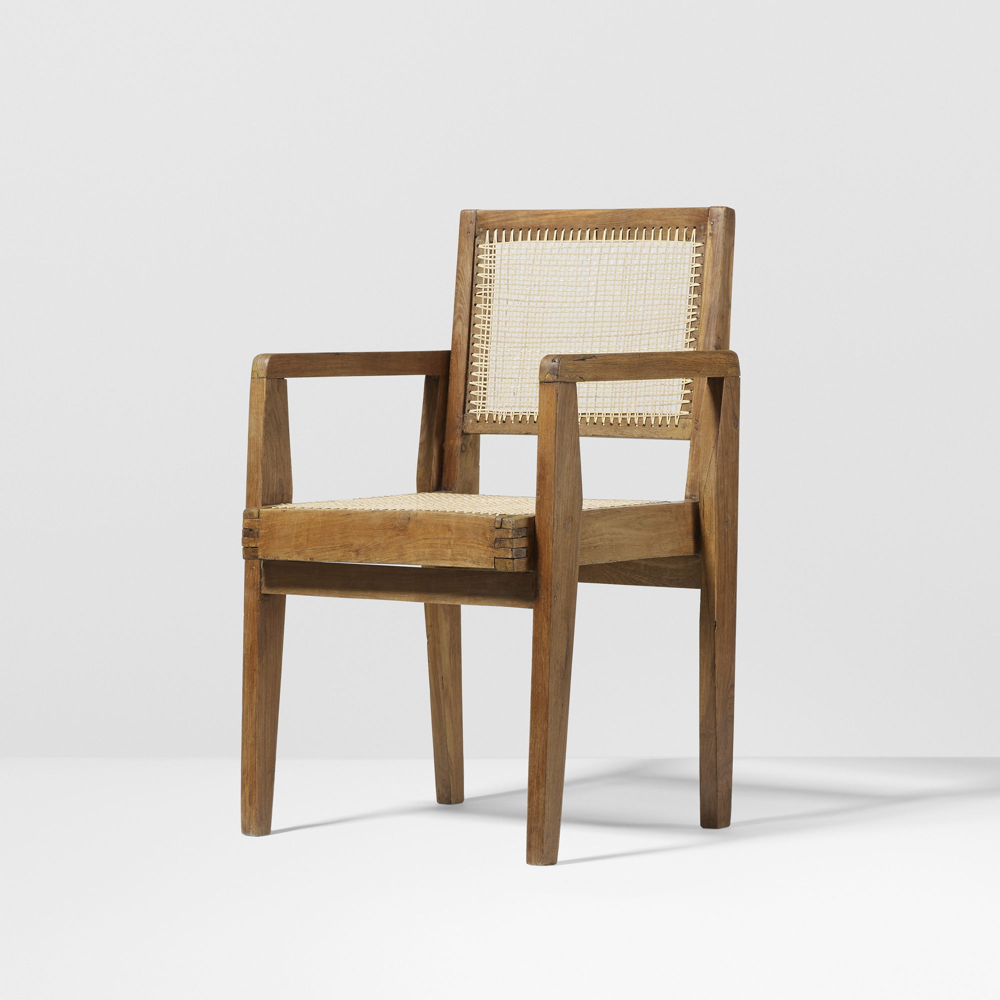 142: Pierre Jeanneret / Clerku0027s Chair From The High Court, Chandigarh (1 Of