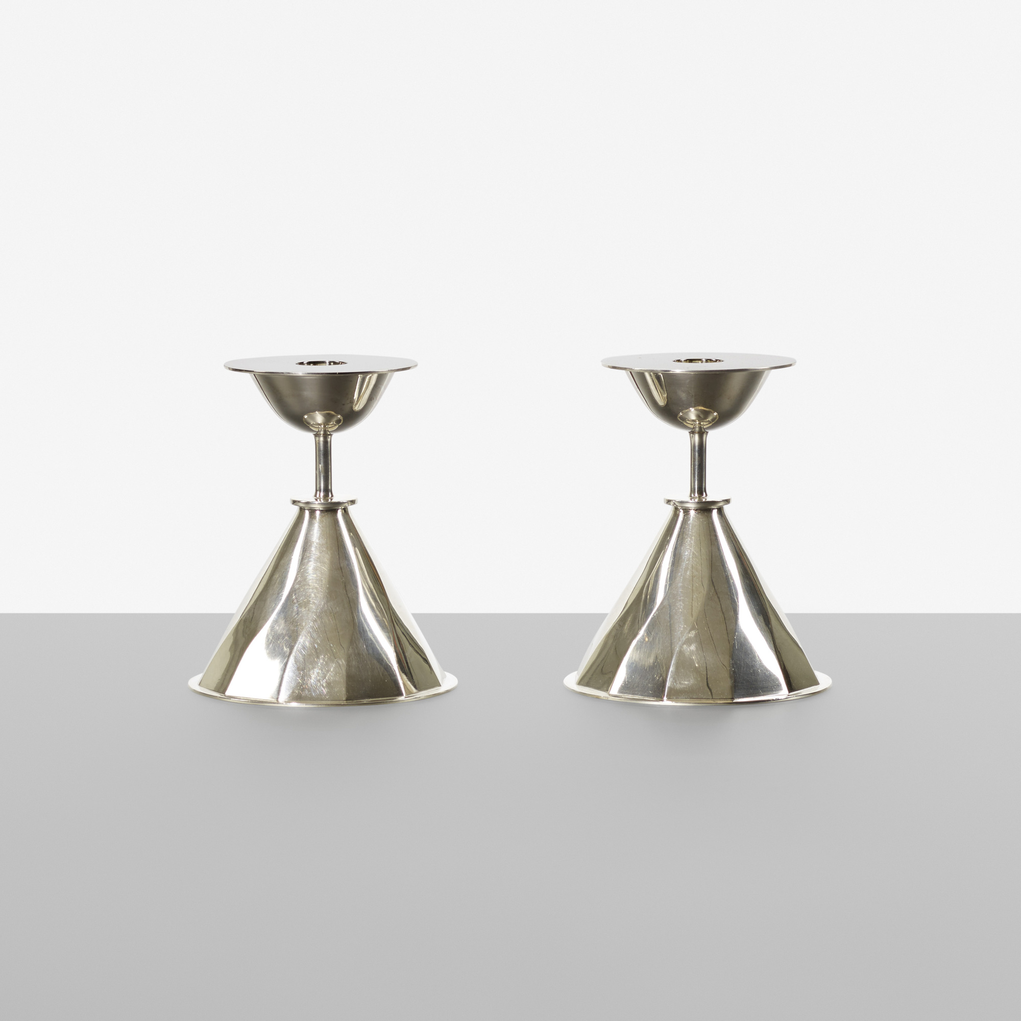 142: Carl Nyströmer / candlesticks, pair (1 of 1)