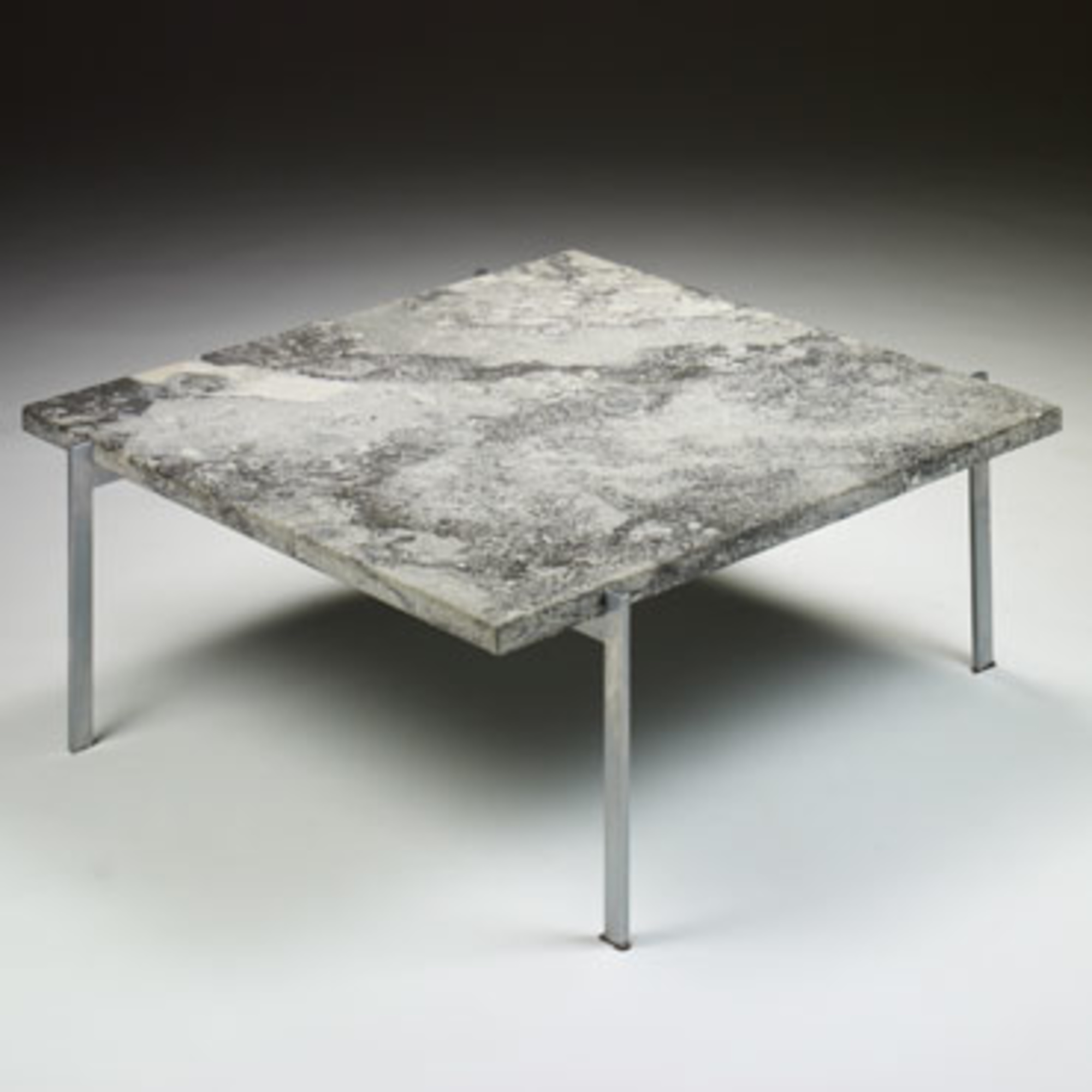 143 Poul Kjaerholm Pk 61 Coffee Table 1 Of