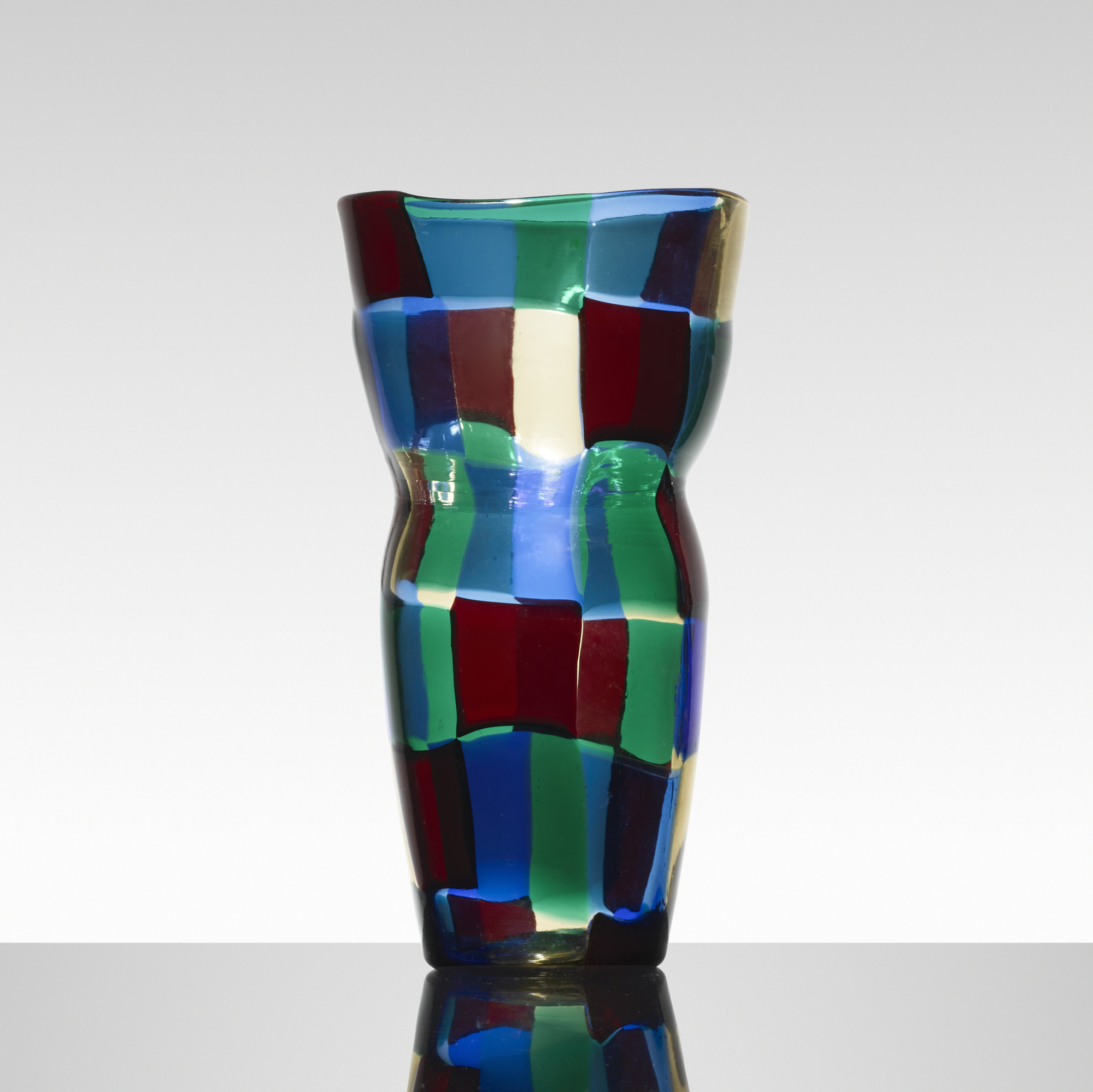 143: Fulvio Bianconi / Pezzato vase, model 4402 (1 of 2)