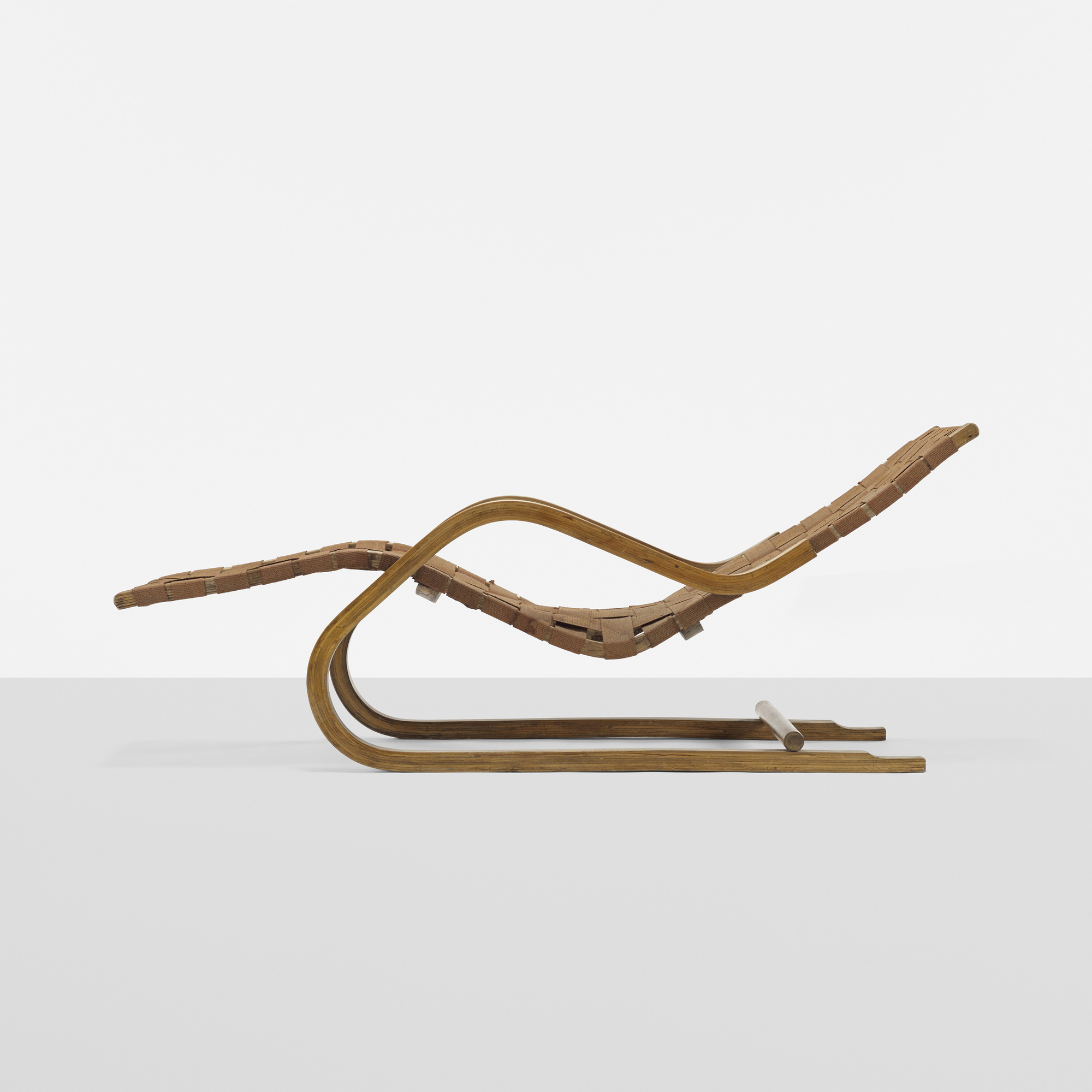 143 Alvar Aalto Cantilevered Chaise Model 39 1 Of 3