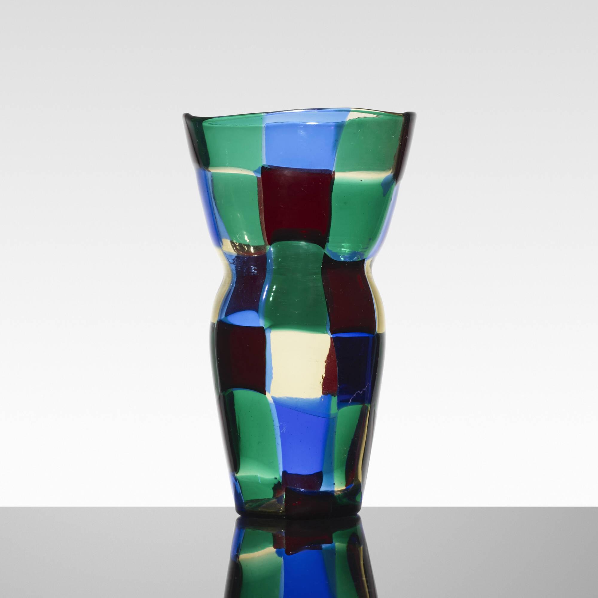 143: Fulvio Bianconi / Pezzato vase, model 4402 (2 of 2)