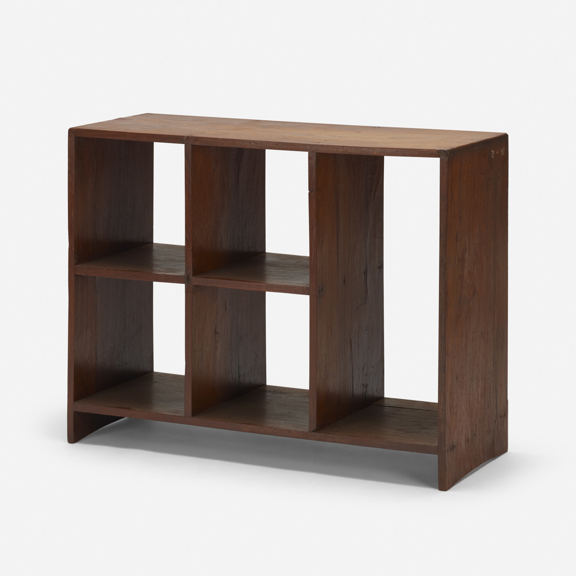 144: PIERRE JEANNERET, file rack from the Administrative