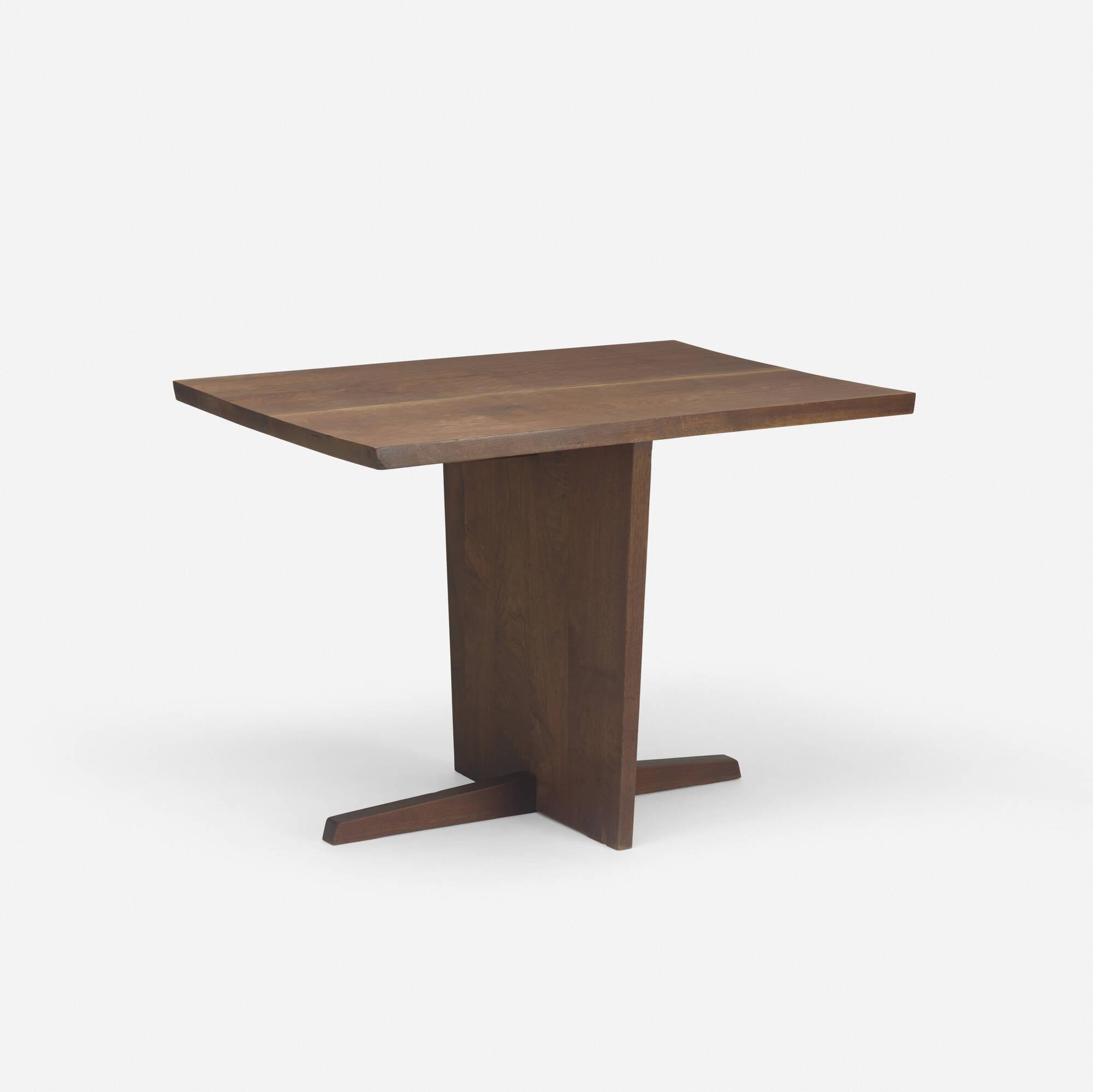 144: George Nakashima / Minguren I table (1 of 2)