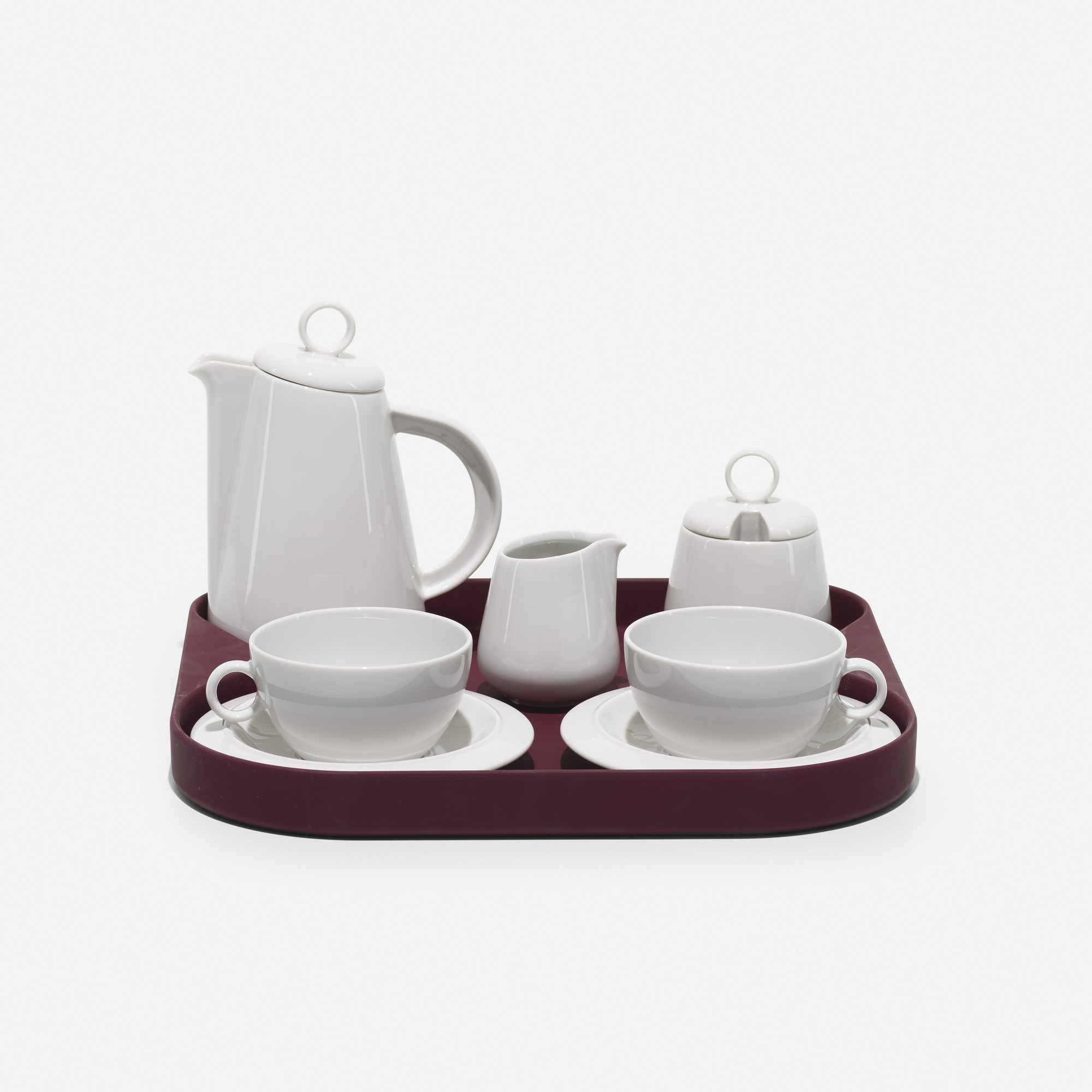 144: Achille Castiglioni / Tea for Two tea service (1 of 2)