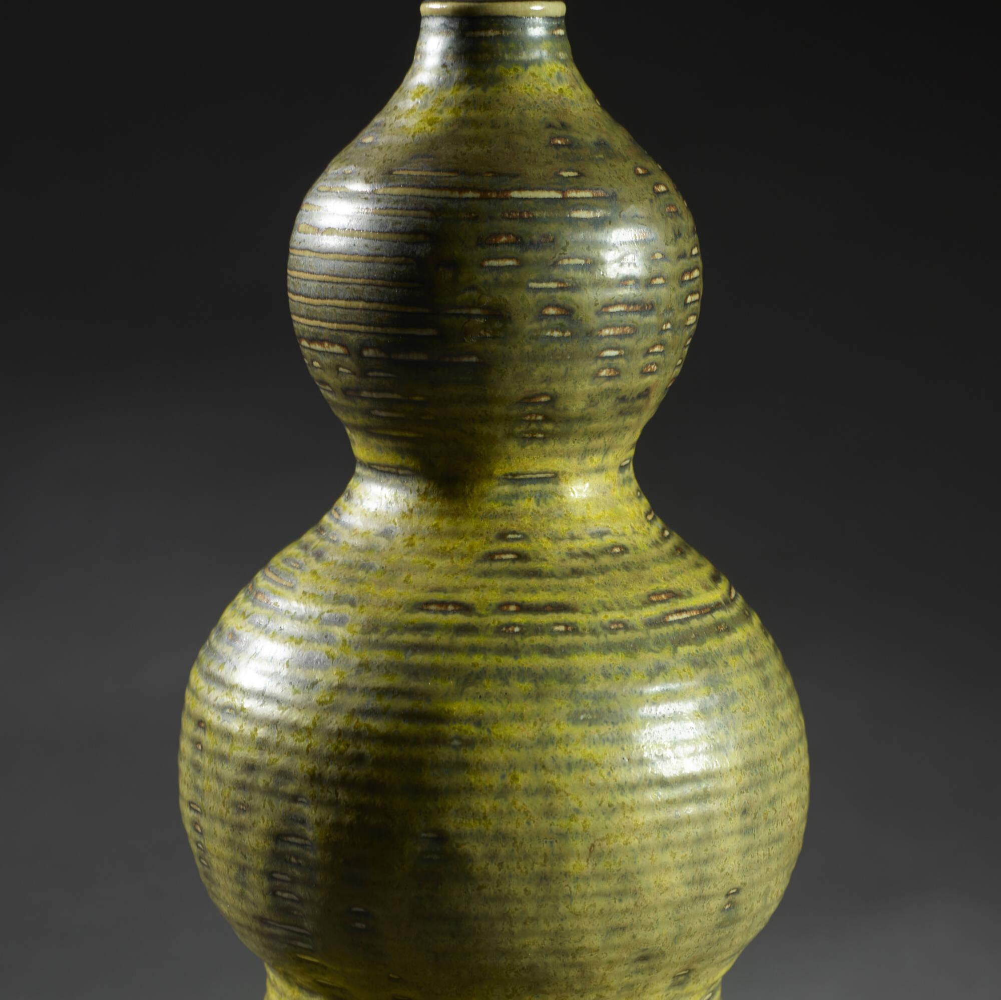 144: Axel Salto / Triple Gourd vase (2 of 2)