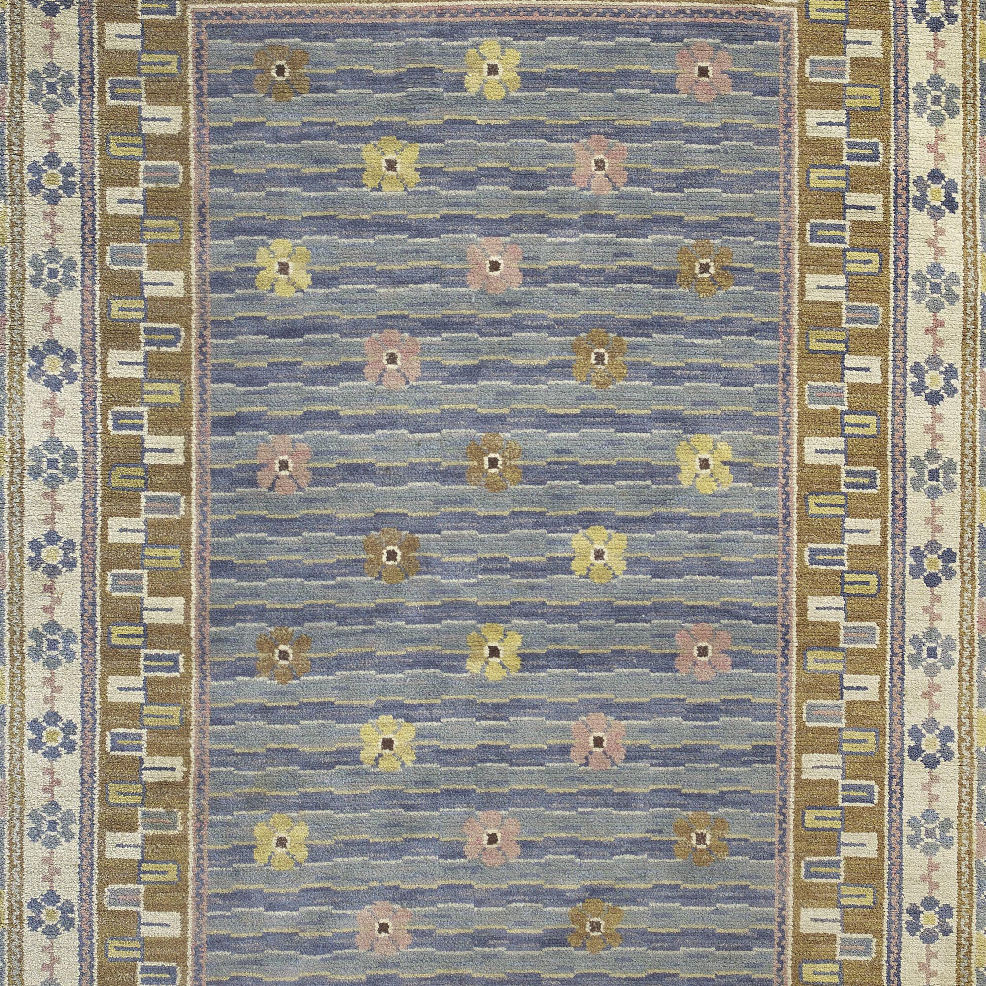 144: Märta Måås-Fjetterström / Steninge pile carpet (3 of 3)