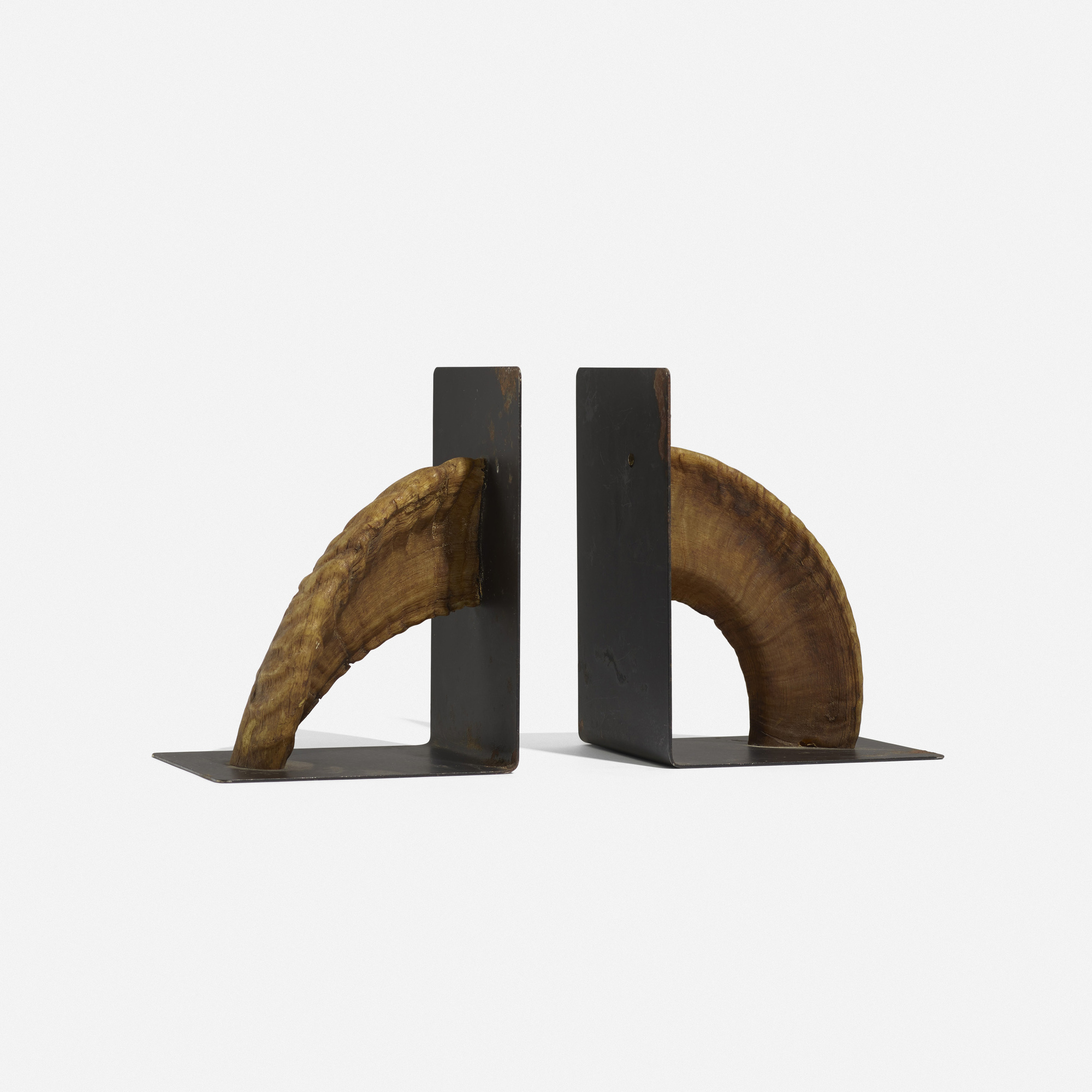 145: Carl Auböck III / bookends, pair (1 of 2)