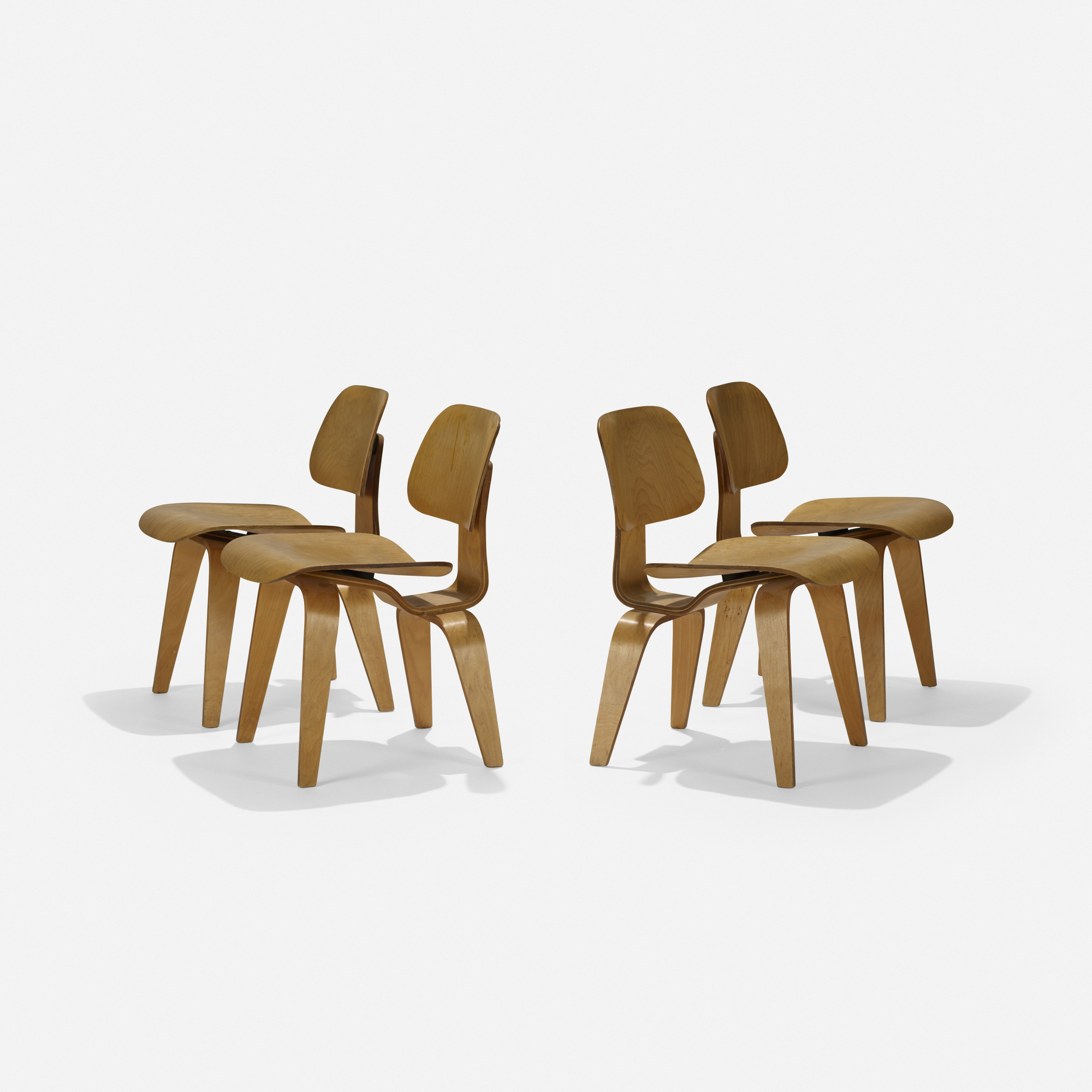 145: Charles and Ray Eames / DCWs, set of four (2 of 4)