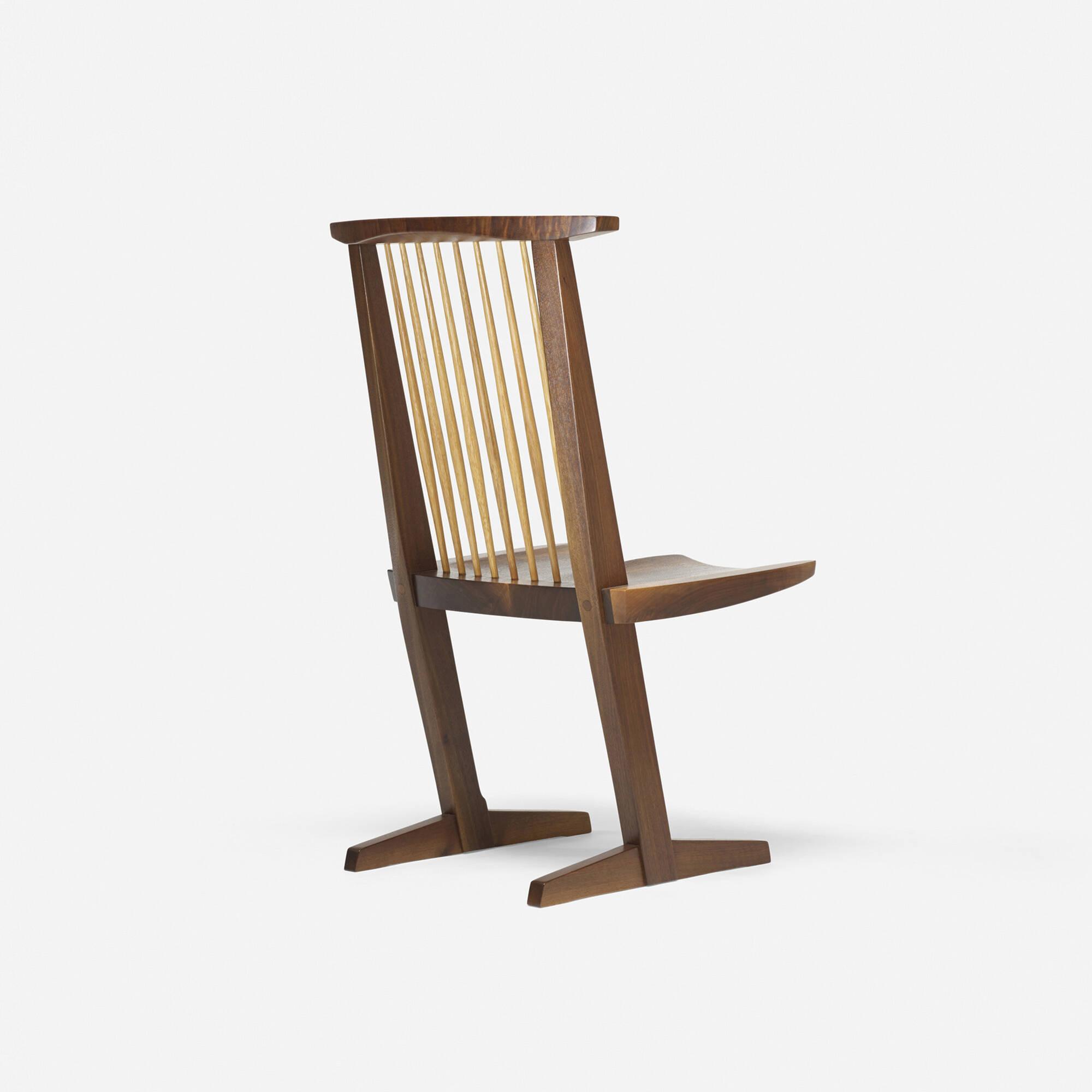George Nakashima Chairs 145: george nakashima / conoid chair < design, 17 october 2013