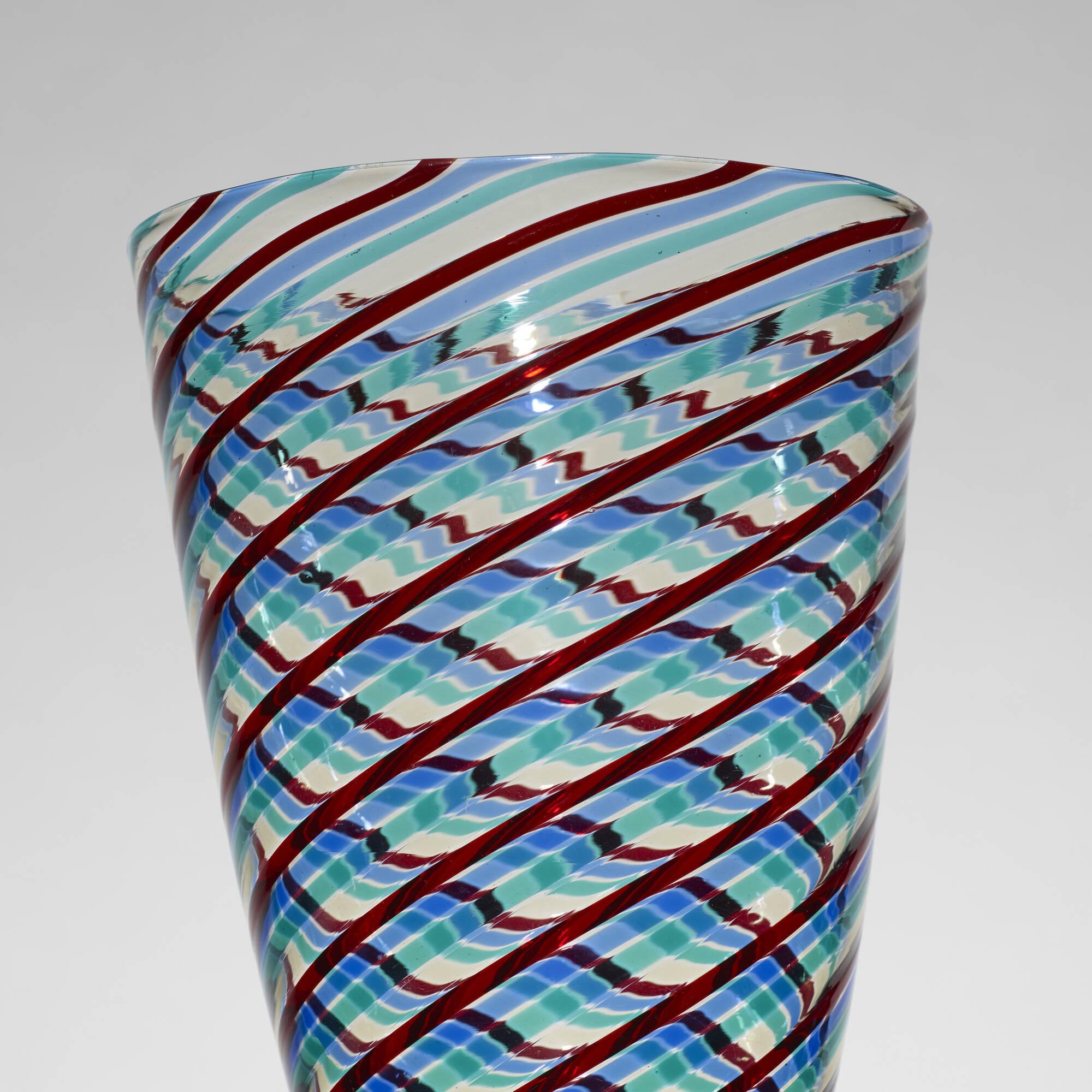 145: Fulvio Bianconi / a Fasce Ritorte vase (2 of 2)