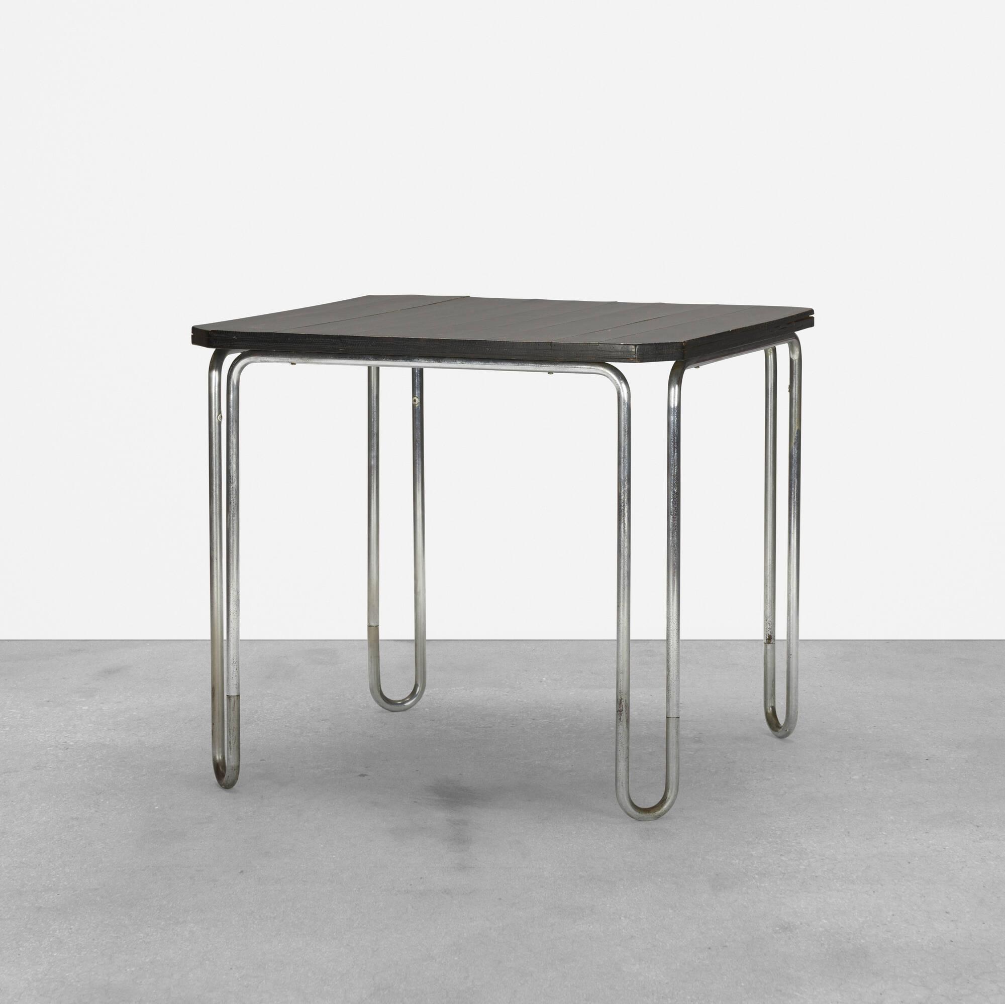 146: Marcel Breuer / table, model B10 (1 of 3)