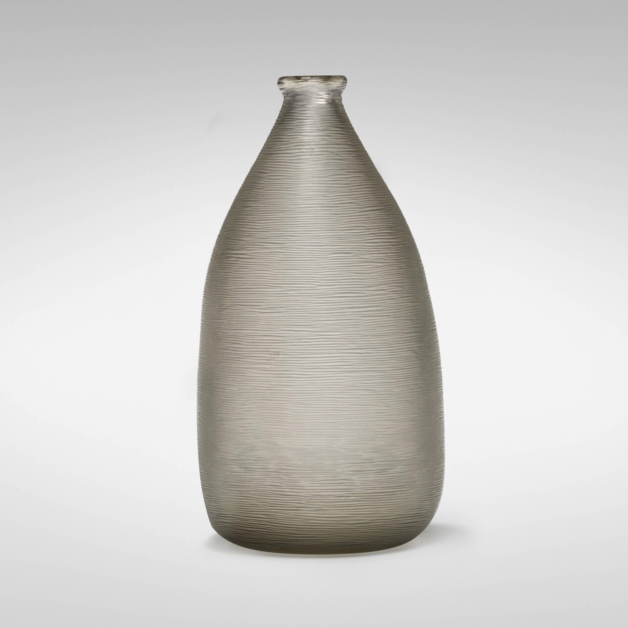 144 carlo scarpa battuto vase model 3908 important italian carlo scarpa inciso vase floridaeventfo Image collections