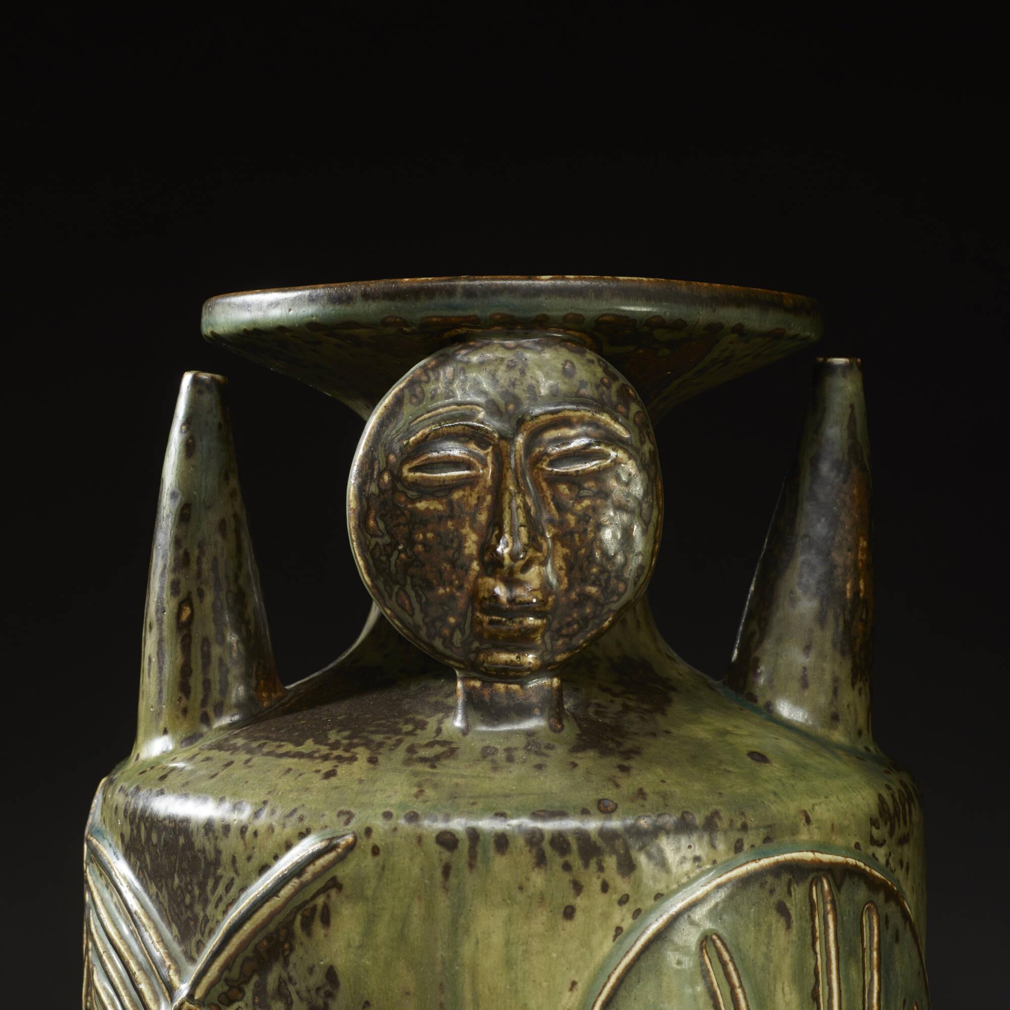 146: Axel Salto / Living Stone vase (3 of 3)