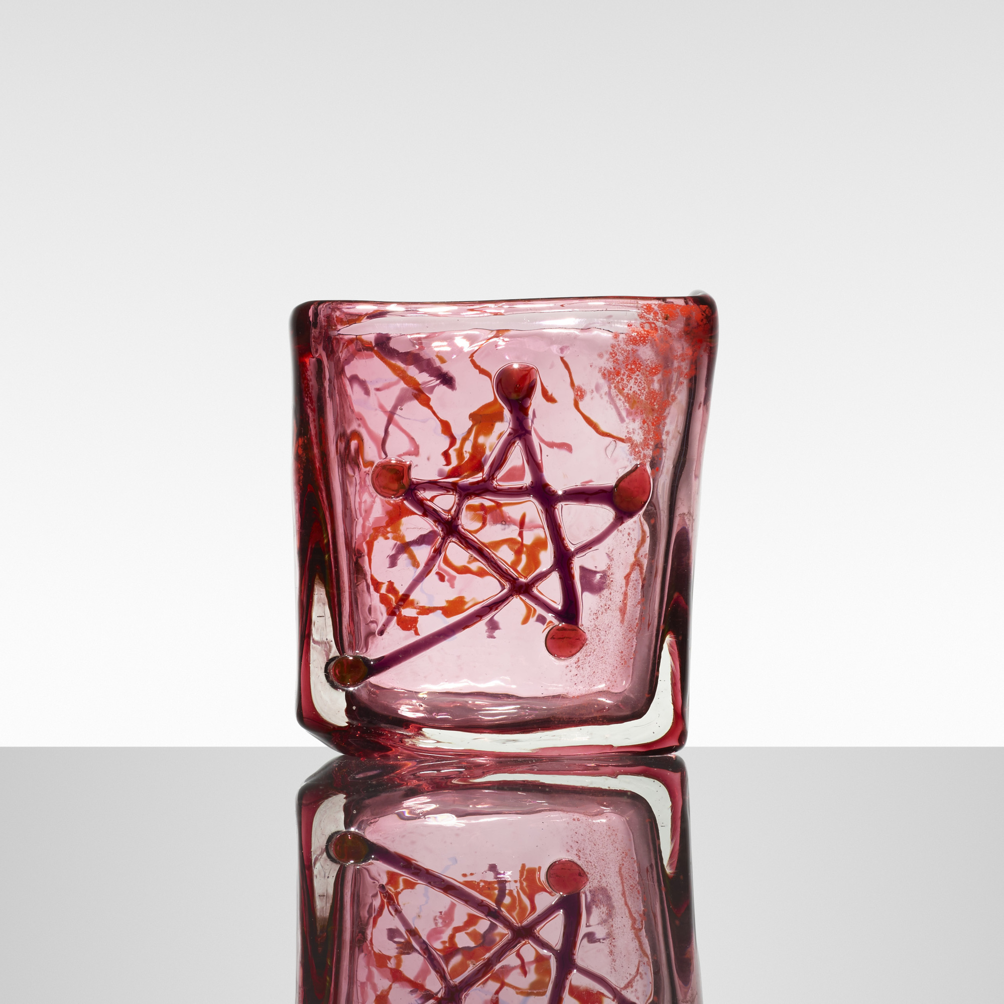 147: Fulvio Bianconi / Rettangolare vase (1 of 3)