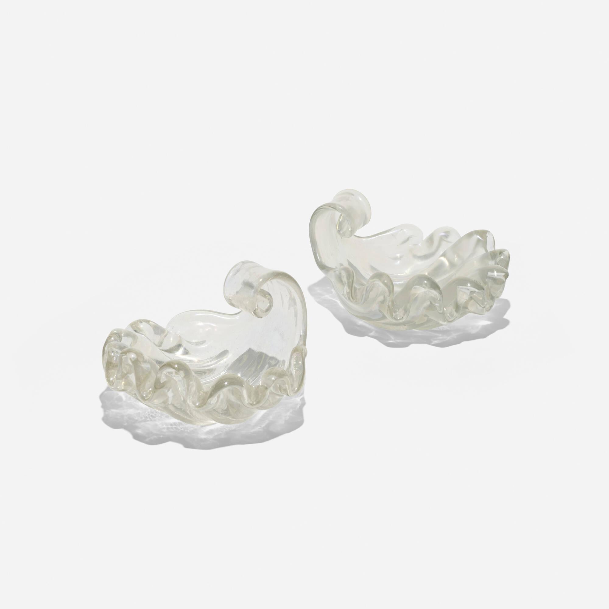 147: Ercole Barovier / bowls, pair (1 of 1)
