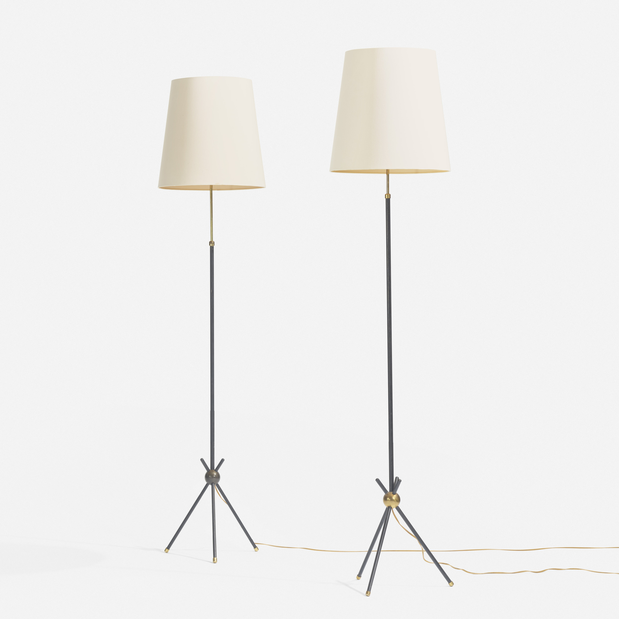 147: Svend Aage Holm  Sørensen / floor lamps, pair (1 of 2)